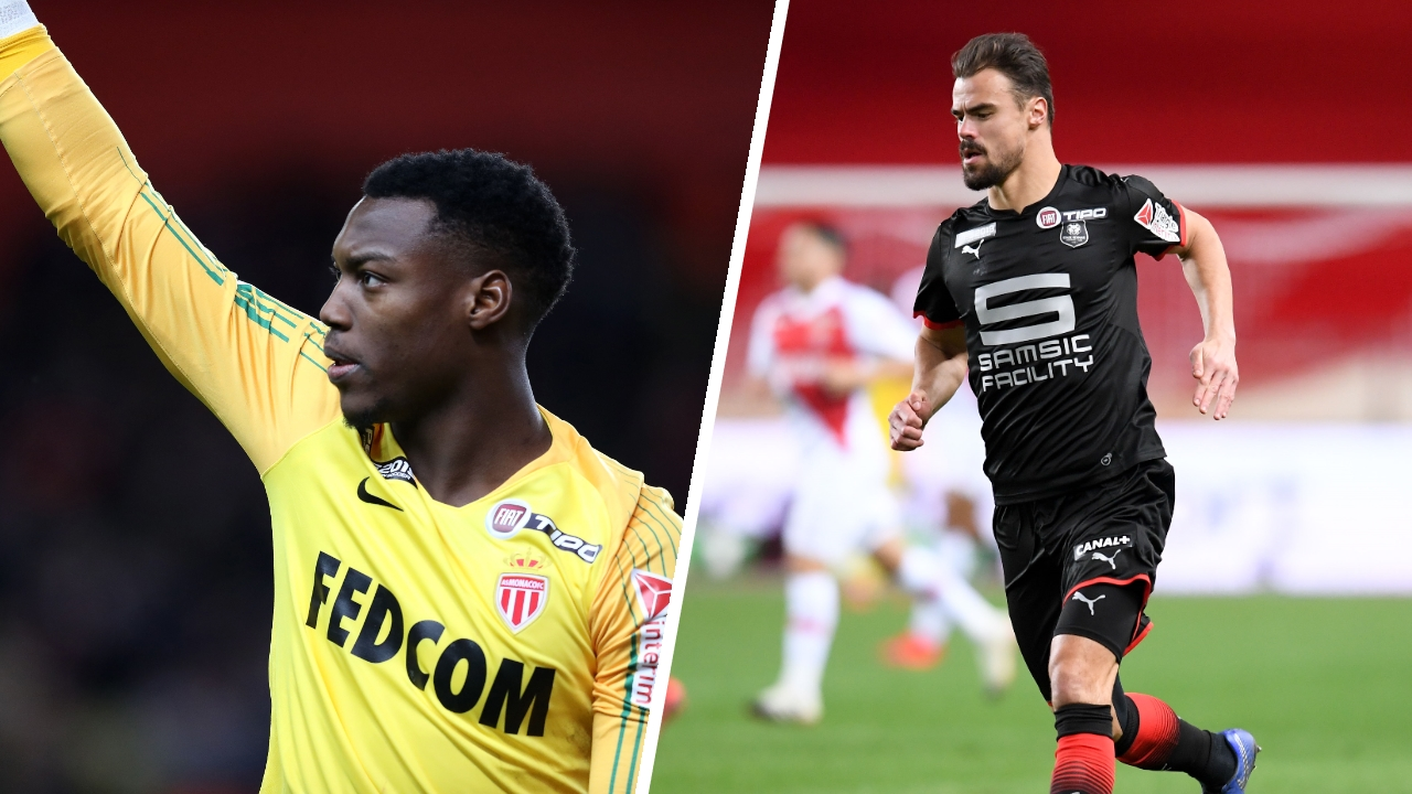 Football - Coupe de la Ligue - Tops/Flops Monaco-Rennes : Badiashile buteur inattendu, Da Silva trop court