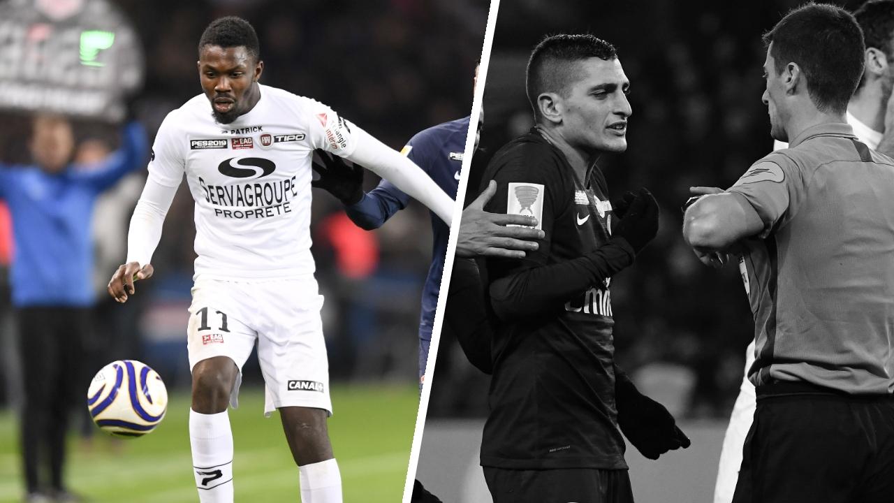 Football - Coupe de la Ligue - Tops/Flops PSG-Guingamp : Thuram par toutes les émotions, Paris a craqué