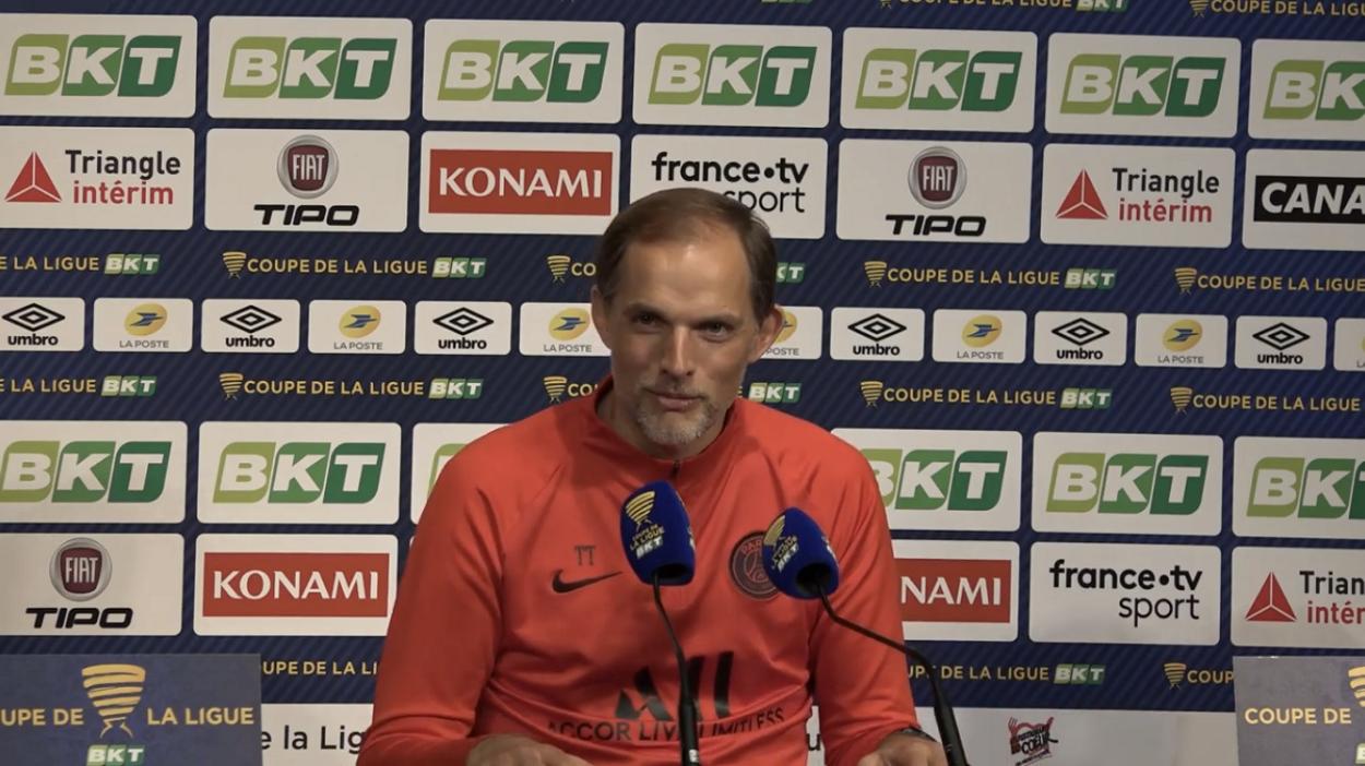 Football - Coupe de la Ligue - Tuchel se paie (encore) Verratti : «Quand il frappe, ça ne fait jamais but»