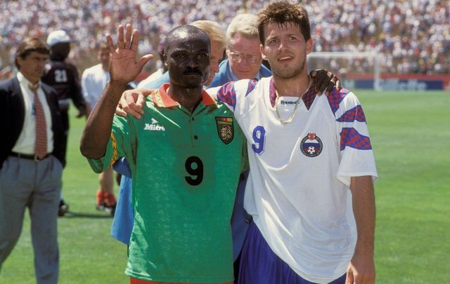 3 juillet 1994 l 39 apog e d 39 oleg salenko journal du mondial coupe du monde 2010 coupe du - Coupe du monde football 1994 ...