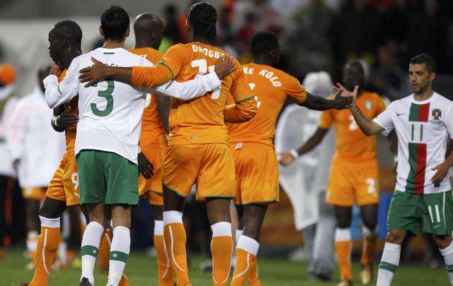 Les chiffres de c te d 39 ivoire portugal journal du mondial coupe du monde 2010 coupe du - Resultat coupe du monde 2010 ...