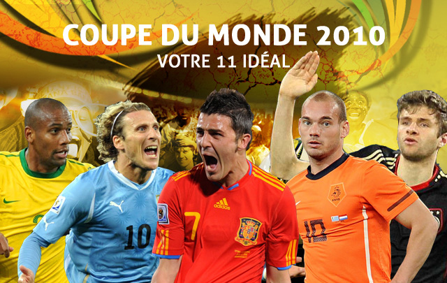 Votre onze id al journal du mondial coupe du monde 2010 coupe du monde football - Coupe du monde 2010 lieu ...
