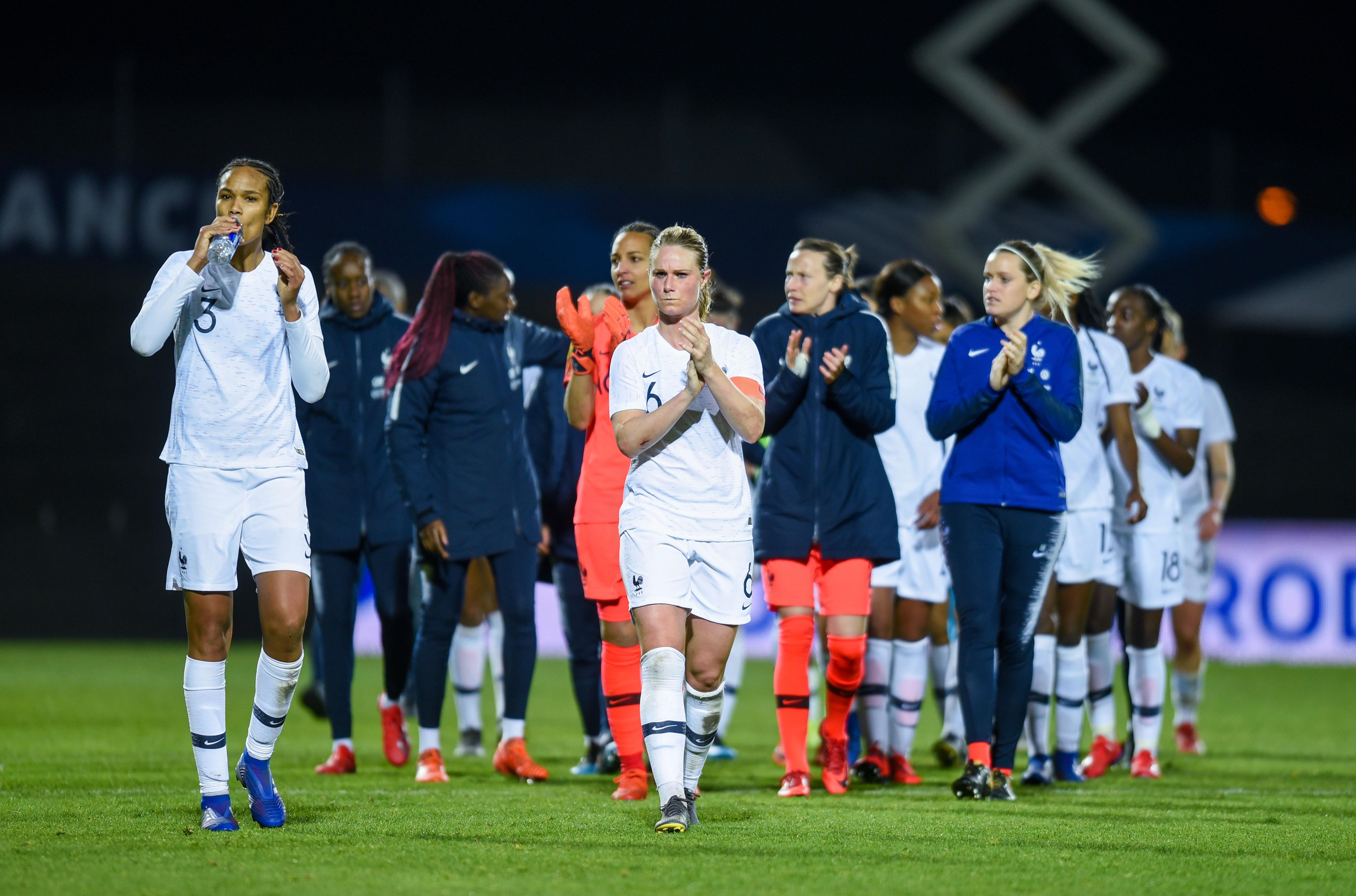 Football - Coupe du monde féminine - A moins de 100 jours du Mondial, les Bleues doivent se ressaisir face à l'Uruguay