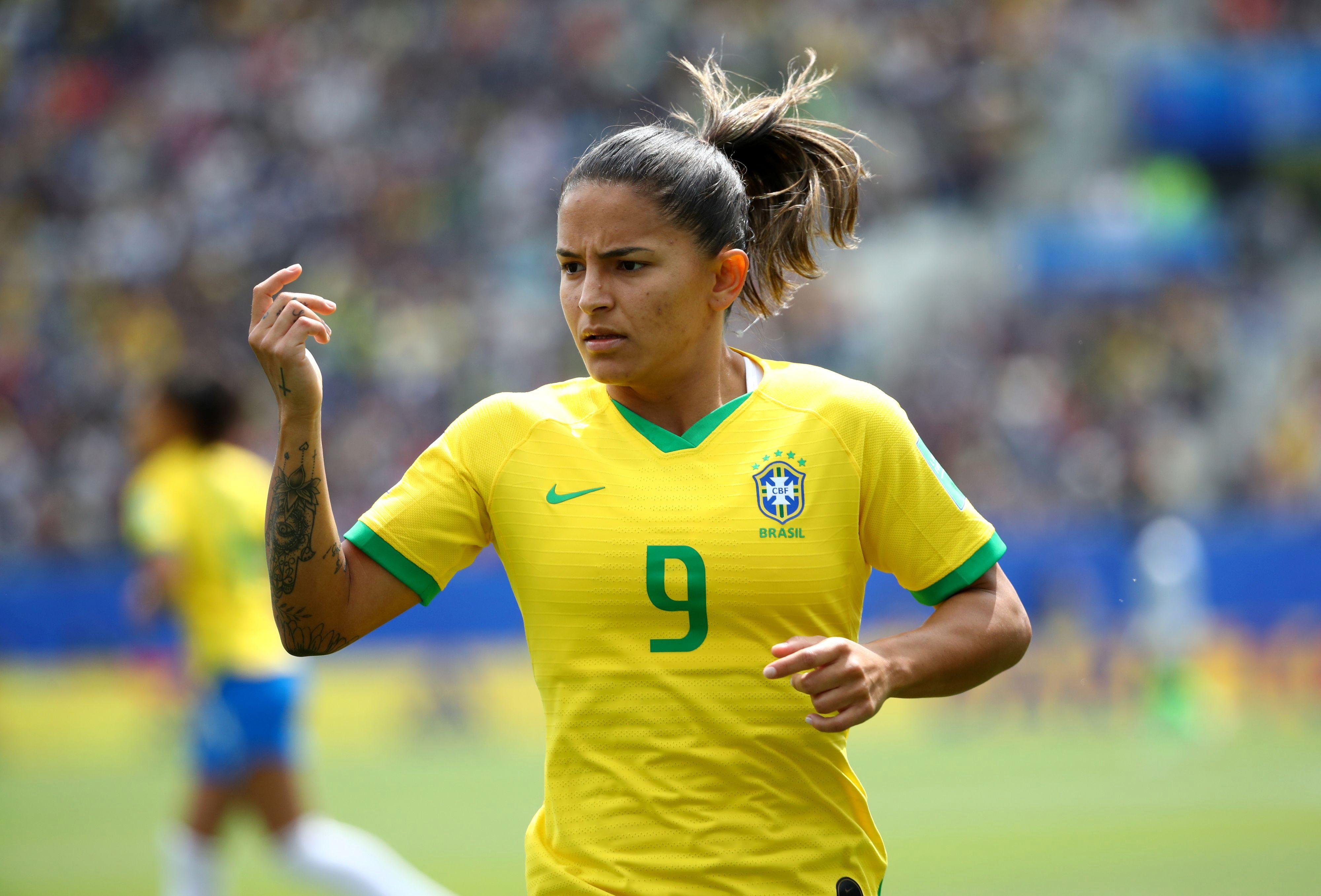 Football - Coupe du monde féminine - Coupe du monde féminine 2019 : Debinha, la nouvelle star du Brésil