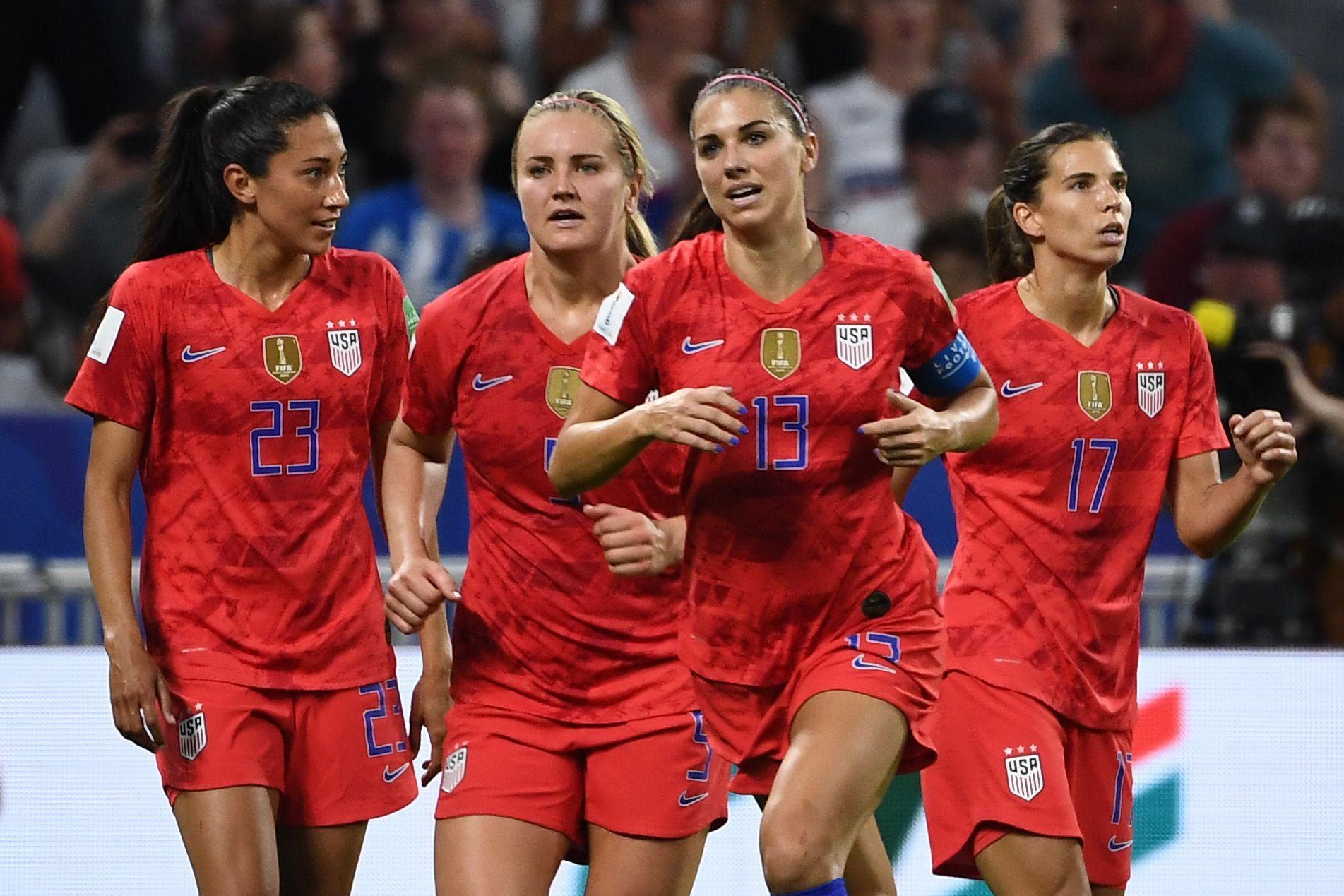 Football - Coupe du monde féminine - Coupe du monde féminine 2019 : Les Américaines en route vers une quatrième étoile