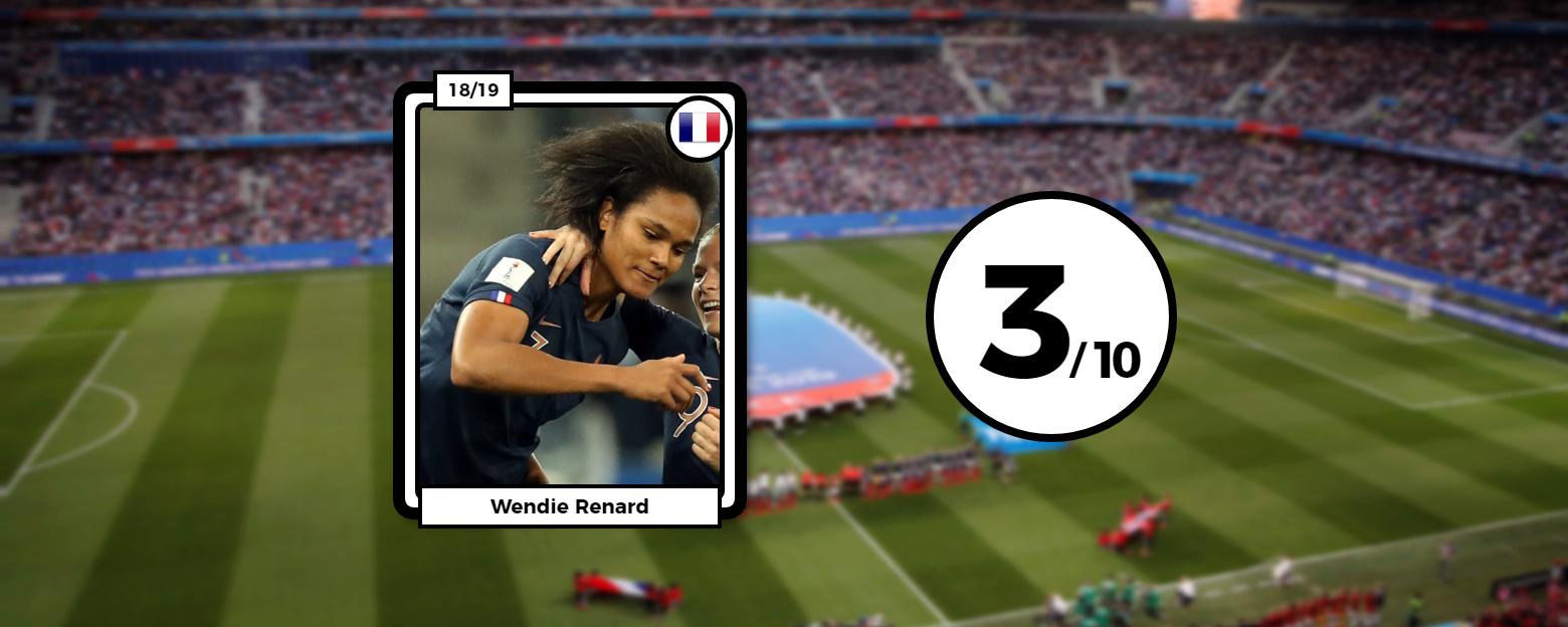 Football - Coupe du monde féminine - Coupe du monde féminine 2019 : Les notes des Bleues face à la Norvège