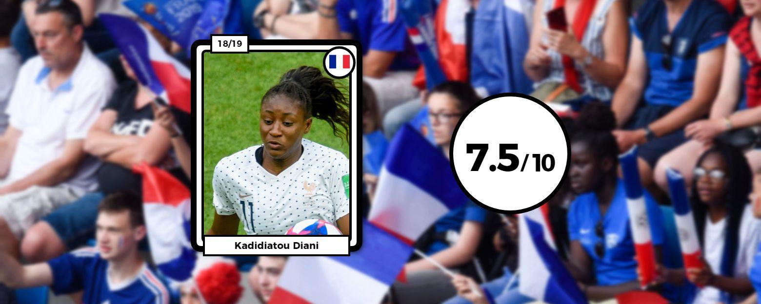 Football - Coupe du monde féminine - Coupe du monde féminine 2019 : Les notes des Bleues face au Brésil