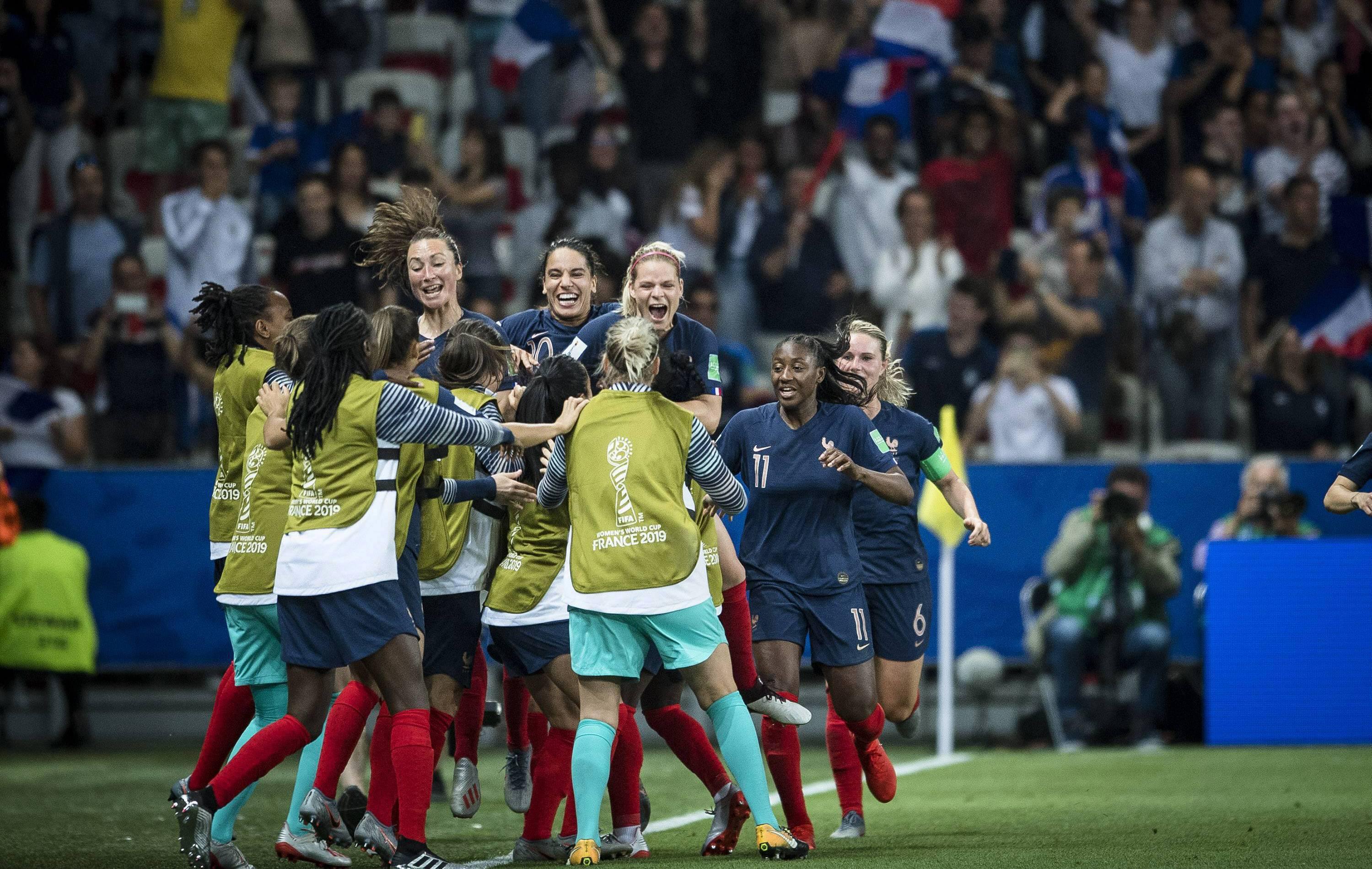 Football - Coupe du monde féminine - Coupe du monde féminine 2019 : Pour les Bleues, jusqu'ici tout va bien