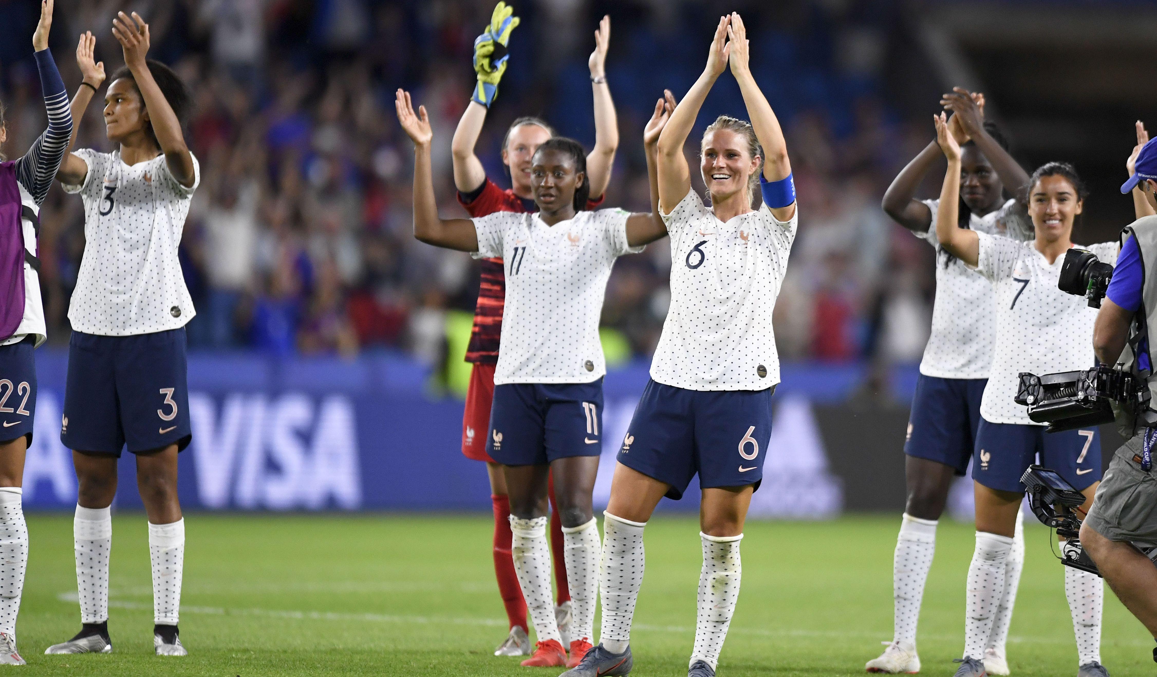 Football - Coupe du monde féminine - Coupe du monde féminine 2019 : Pour les Bleues, seule la victoire est belle