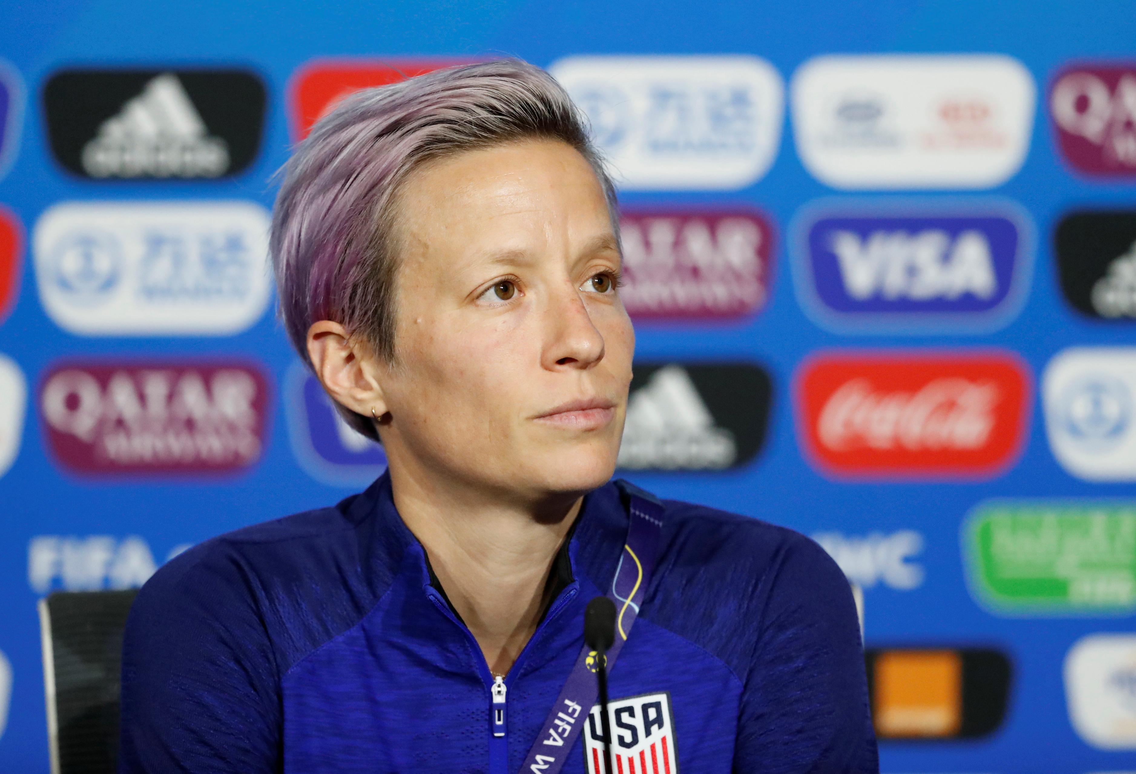 Football - Coupe du monde féminine - Coupe du monde féminine 2019 : Trois finales le même jour ? «Un manque de respect» pour Rapinoe