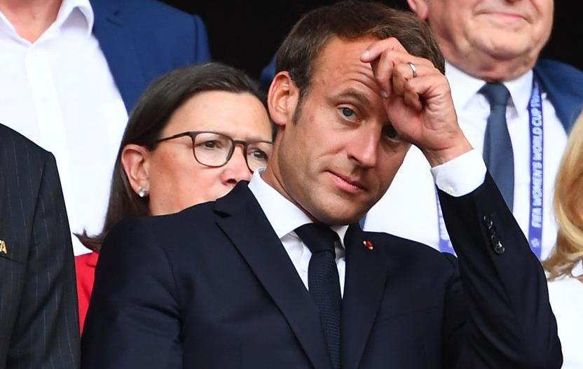 Football - Coupe du monde féminine - Emmanuel Macron : « On vit une révolution» pour le sport féminin