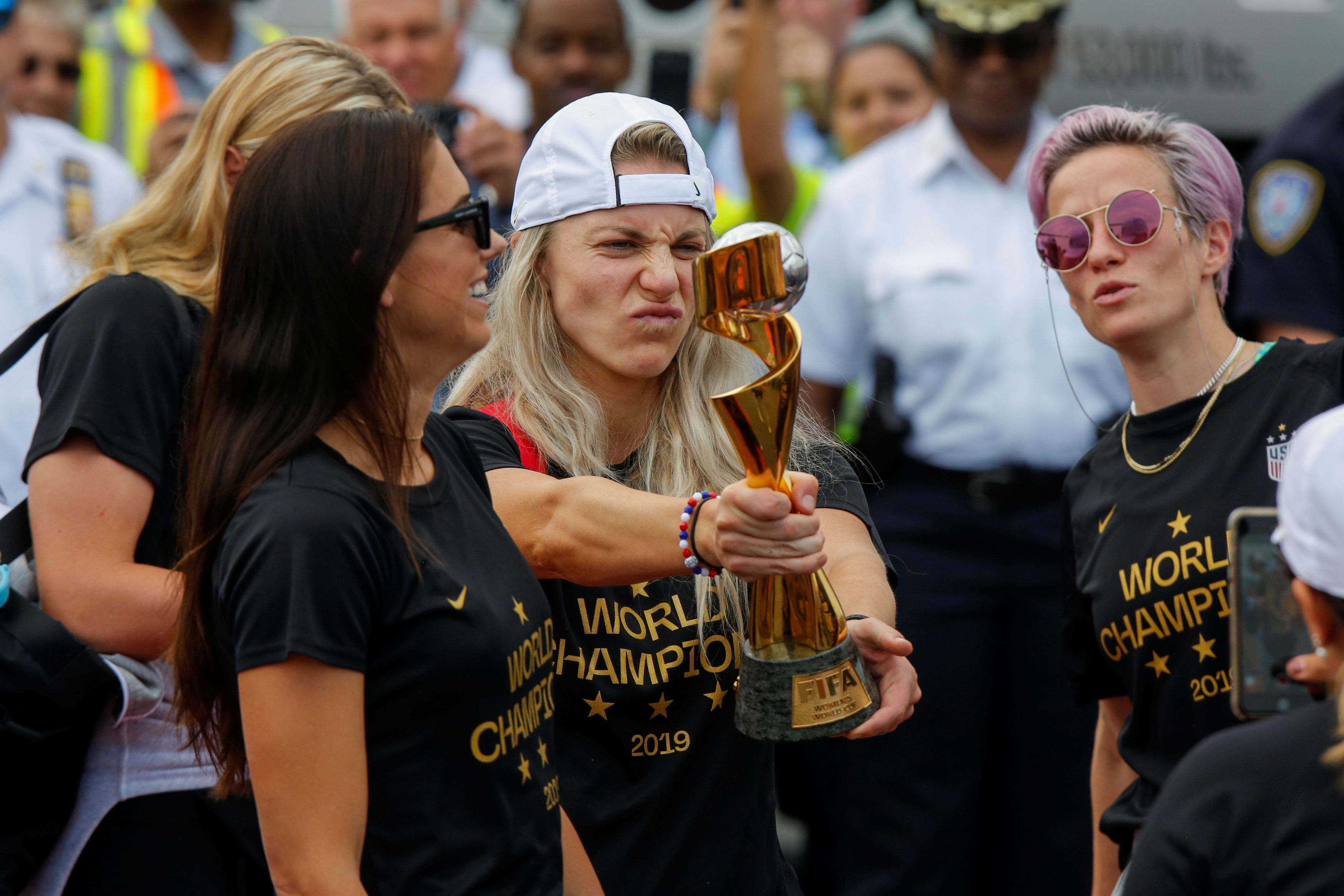 coupe du monde f u00e9minine  les am u00e9ricaines  u00e9galement