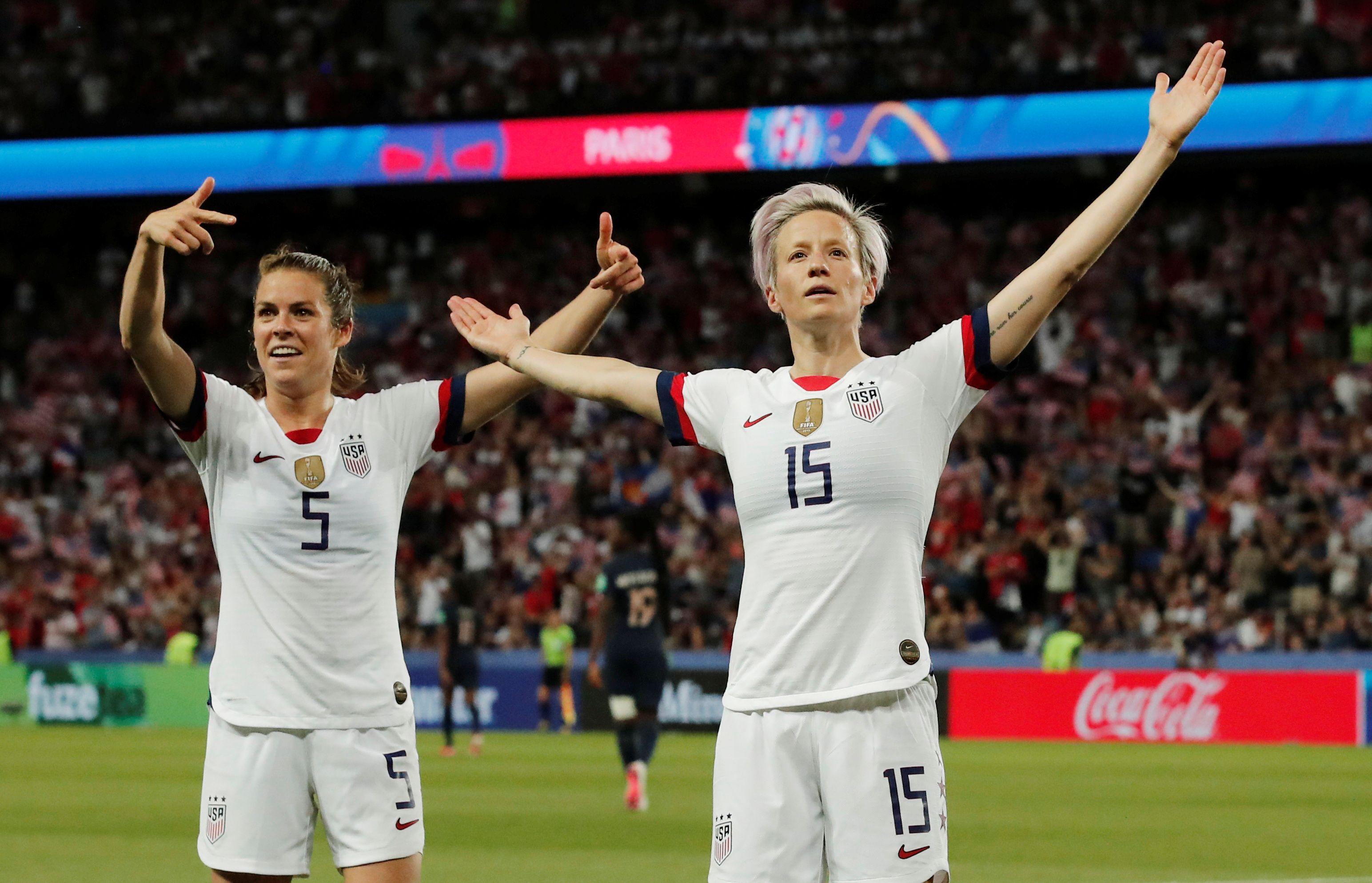 Football - Coupe du monde féminine - Quand Rapinoe, la bourreau des Bleues, se met au français : «C'est ma-gni-fique !»