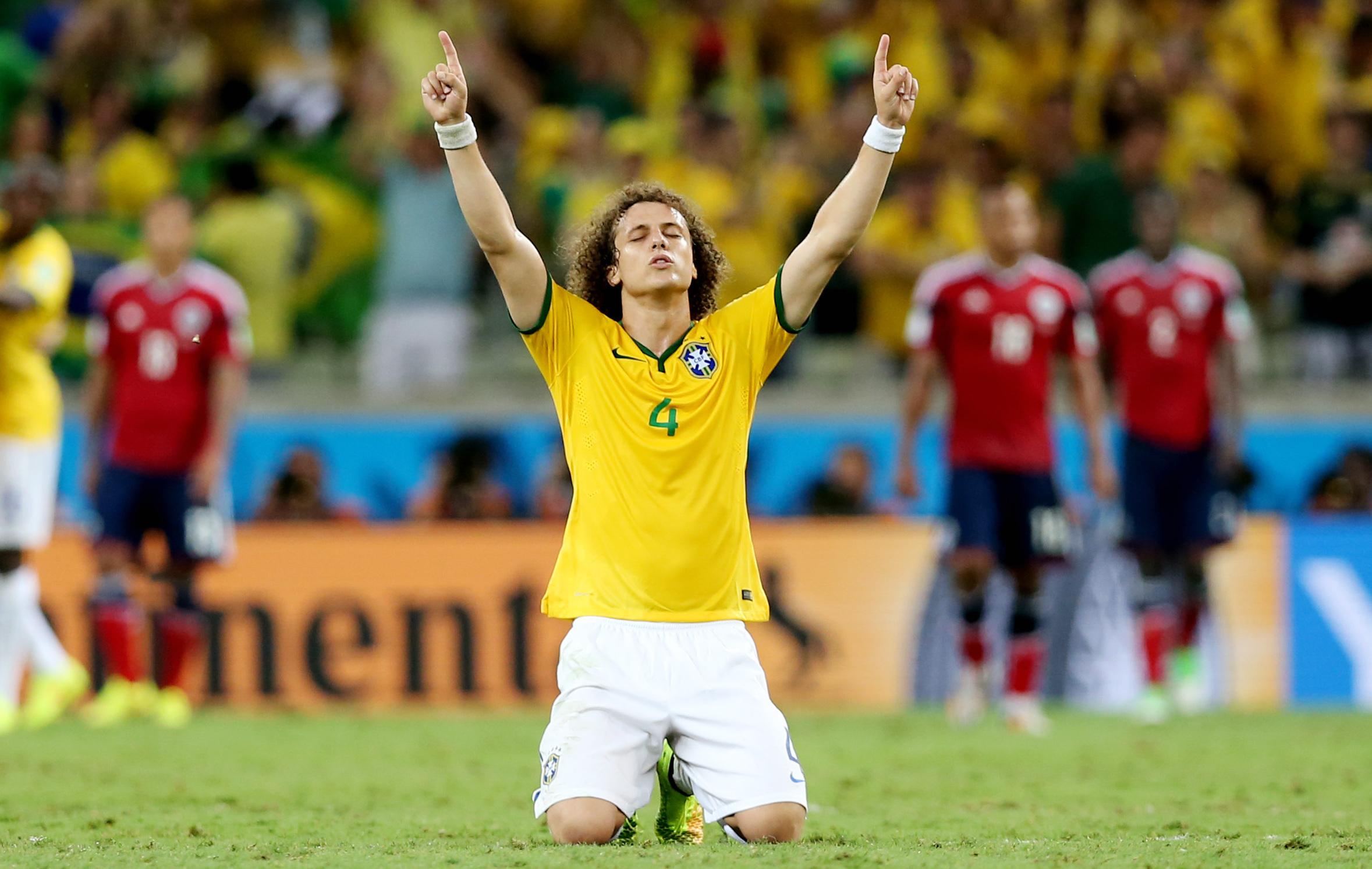 David luiz l me de la sele ao 2014 br sil coupe du monde football - Jeux de football coupe du monde 2014 ...