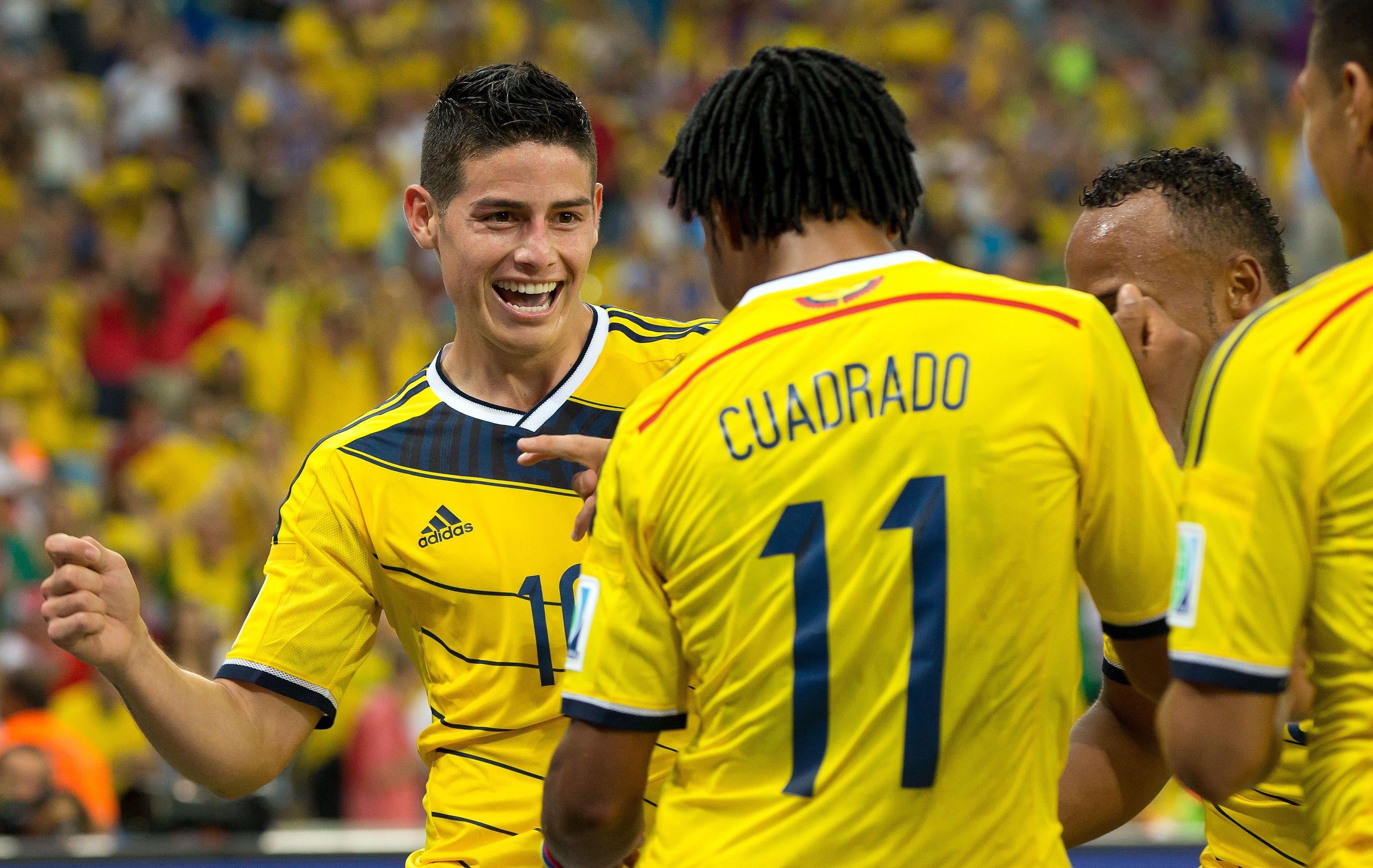 James et la colombie d fieront le br sil 2014 br sil coupe du monde football - Coupe du monde du bresil ...