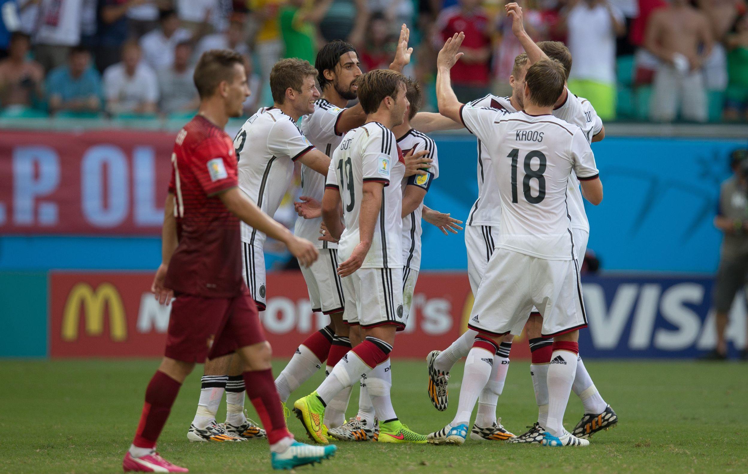 L allemagne fait exploser le portugal 2014 br sil - Coupe du monde 2014 bresil allemagne ...