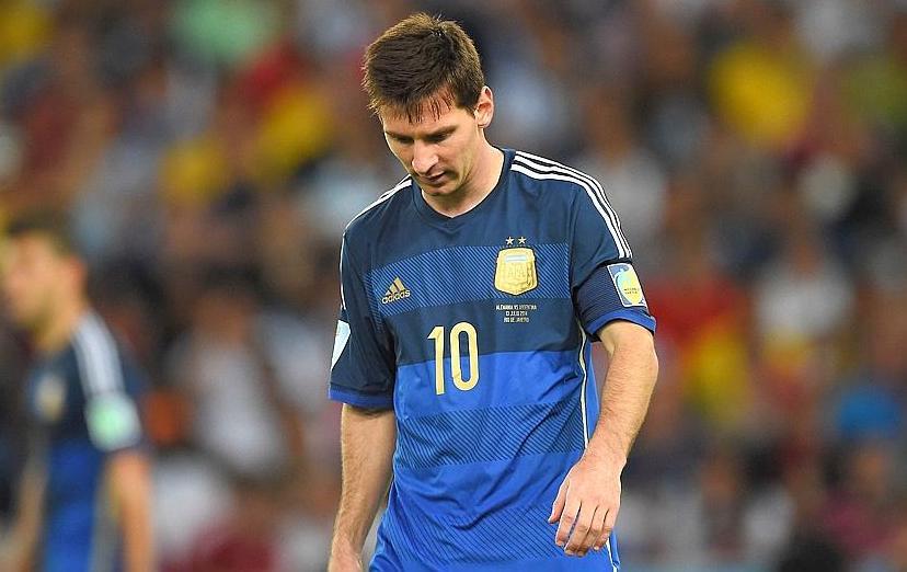 L argentine de messi frustr e mais fi re de son parcours 2014 br sil coupe du monde football - Equipe argentine coupe du monde 2014 ...