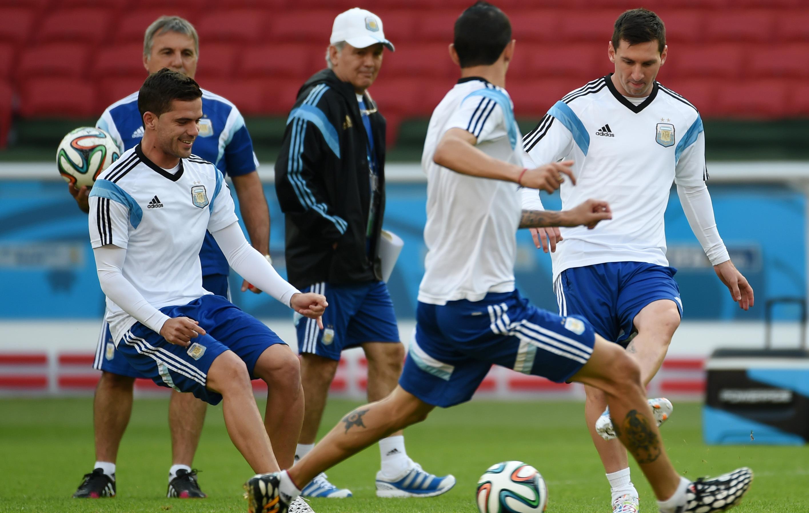 L argentine tousse en attaque 2014 br sil coupe du monde football - Equipe argentine coupe du monde 2014 ...