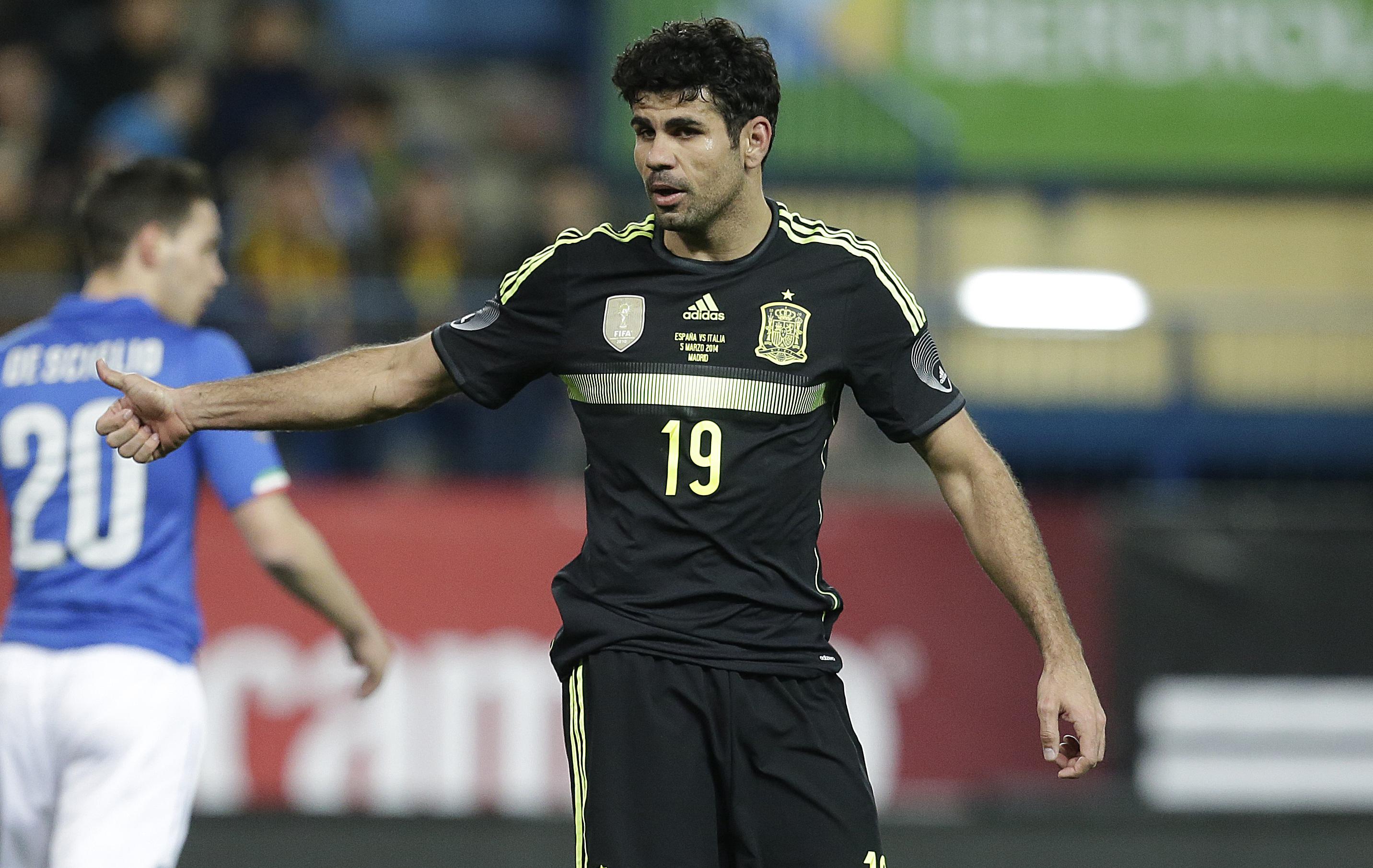 L 39 espagne avec diego costa 2014 br sil coupe du monde football - Coupe du monde espagne 2014 ...