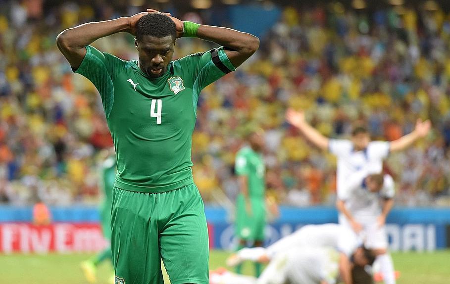 La gr ce crucifie la c te d 39 ivoire 2014 br sil coupe du monde football - Jeux de football coupe du monde 2014 ...