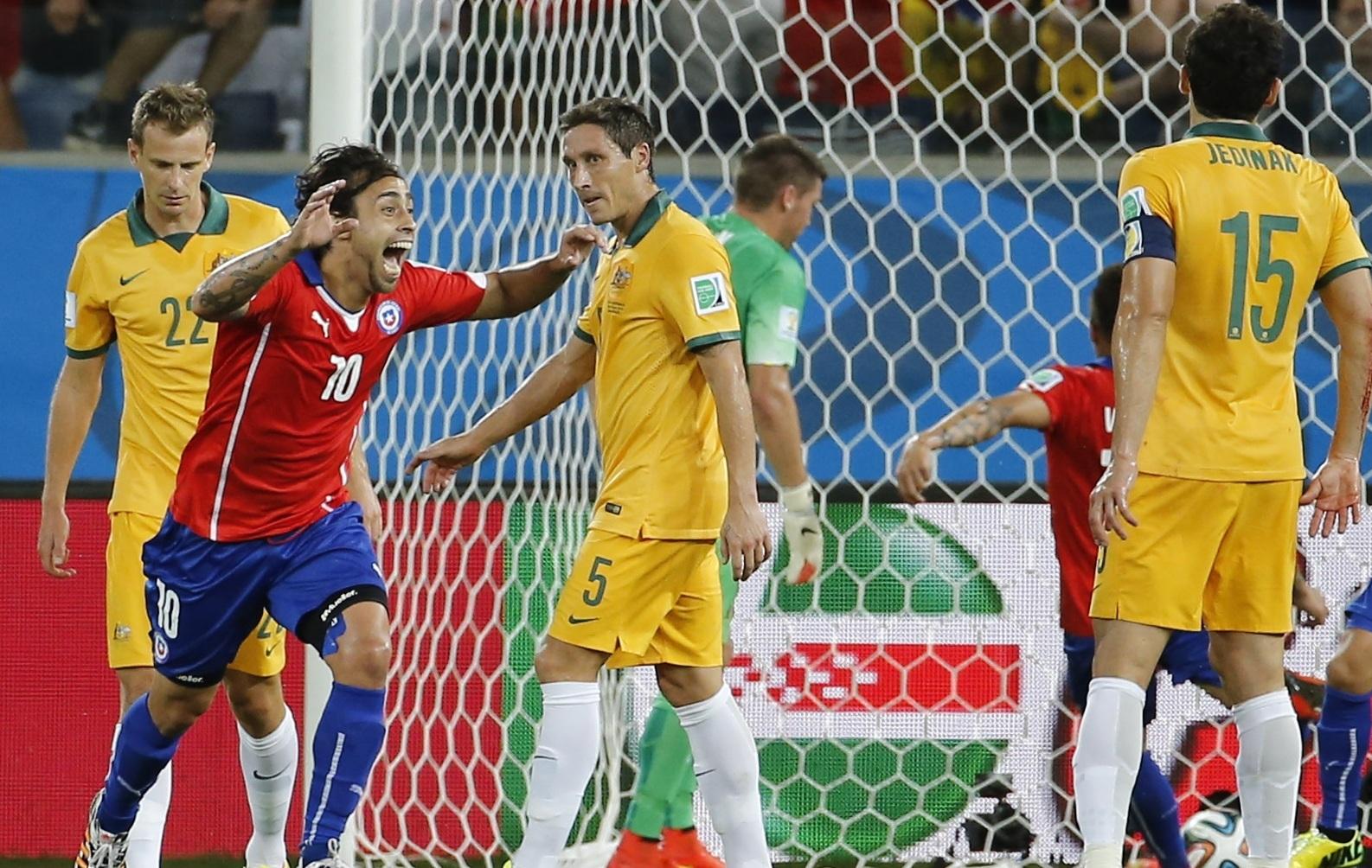 Le chili s 39 est fait peur 2014 br sil coupe du monde football - Jeux de football coupe du monde 2014 ...