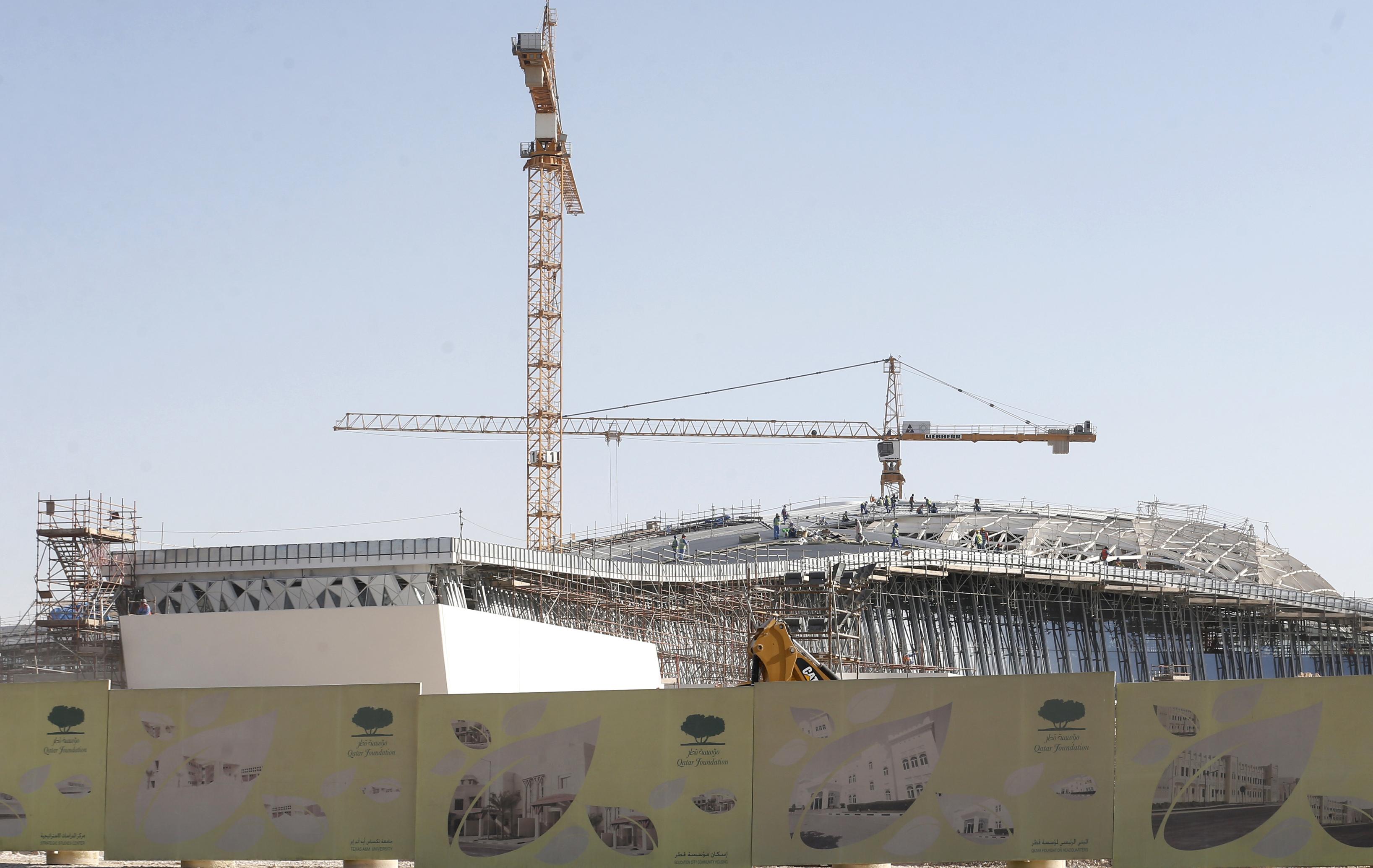 Le qatar assouplit les conditions de travail des trangers 2014 br sil coupe du monde football - Qatar football coupe du monde ...