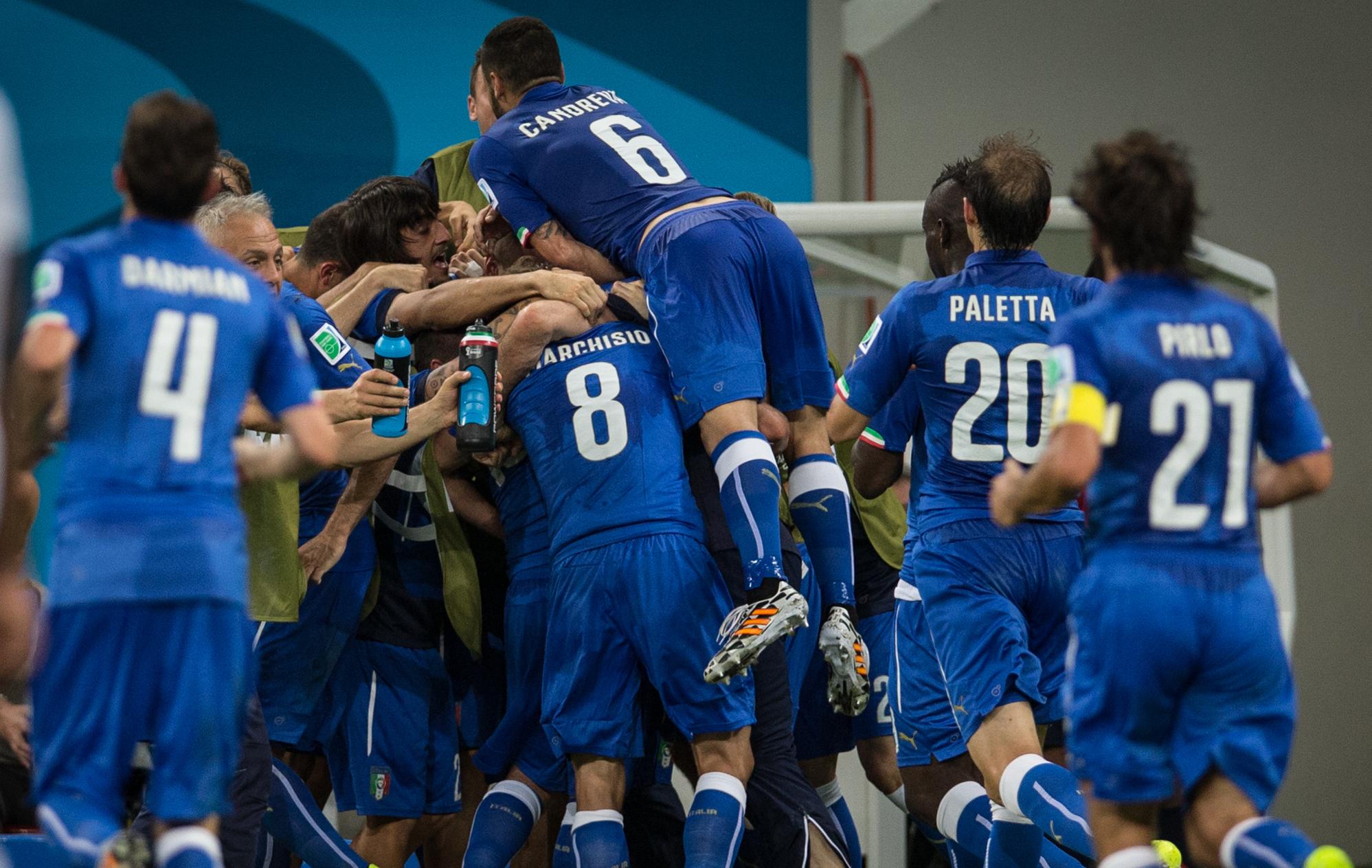 Les bambini de la squadra azzurra 2014 br sil coupe du monde football - Jeux de football coupe du monde 2014 ...