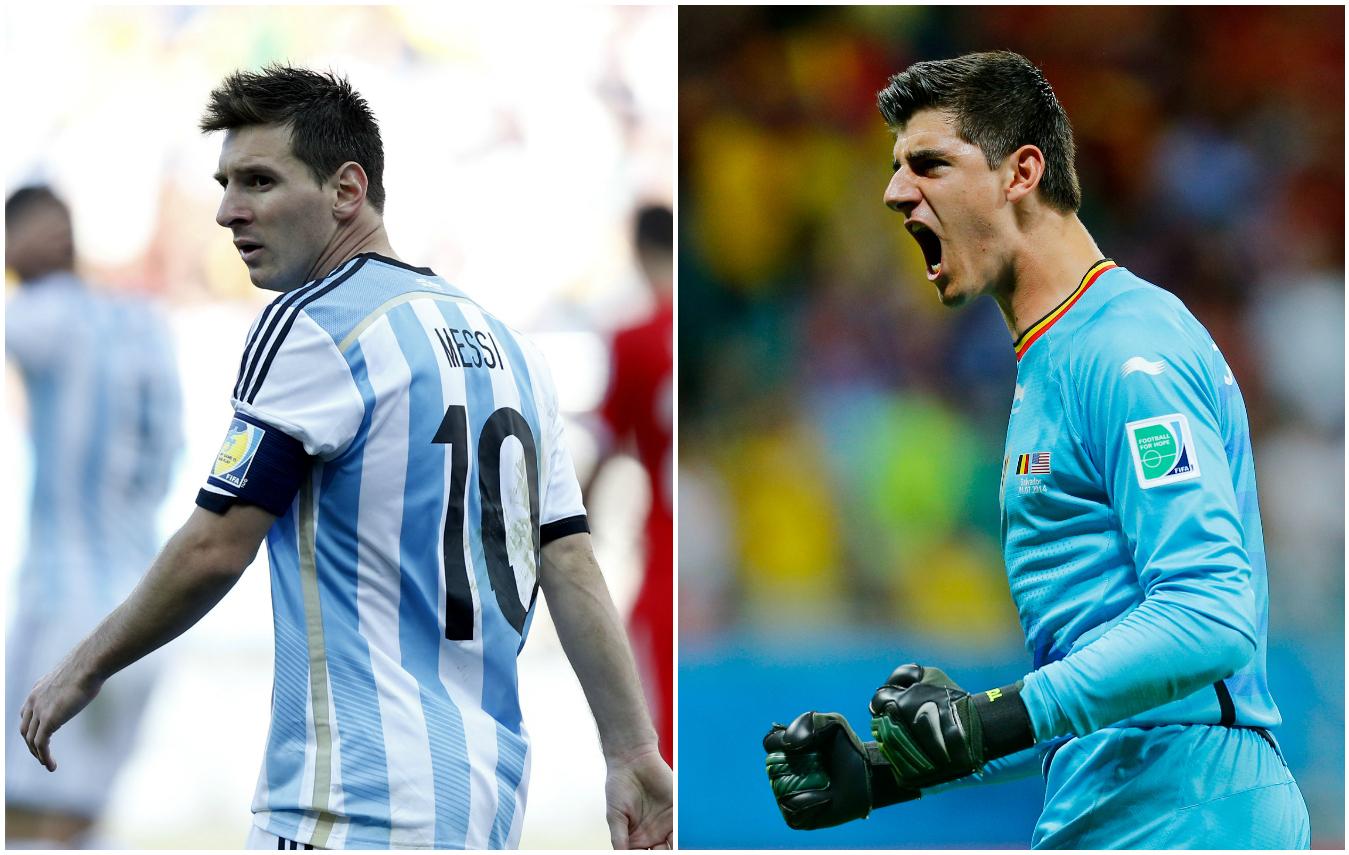 Les chiffres cl s avant argentine belgique 2014 br sil coupe du monde football - Equipe argentine coupe du monde 2014 ...