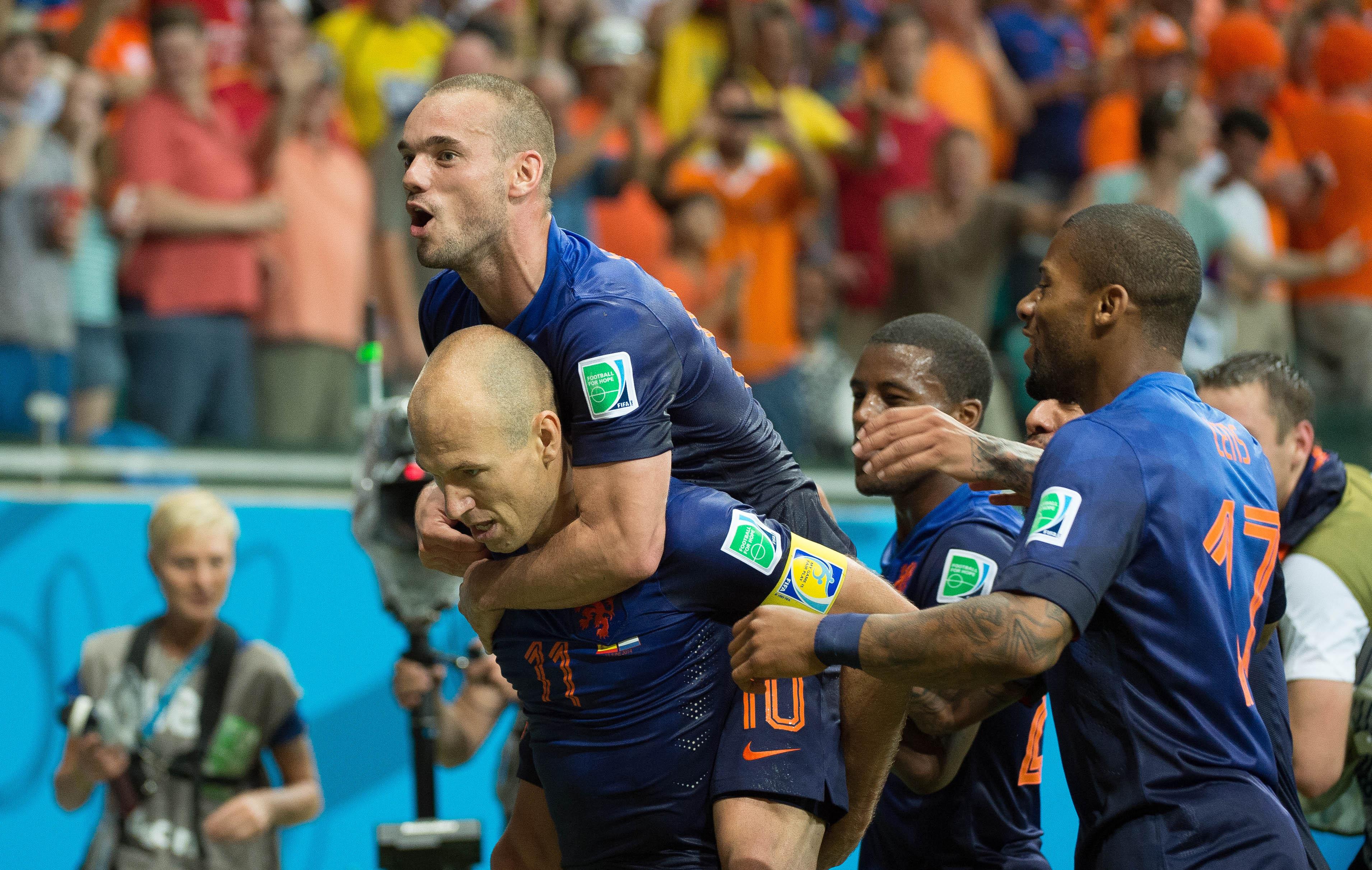 Les pays bas un favori cr dible 2014 br sil coupe du monde football - Jeux de football coupe du monde 2014 ...
