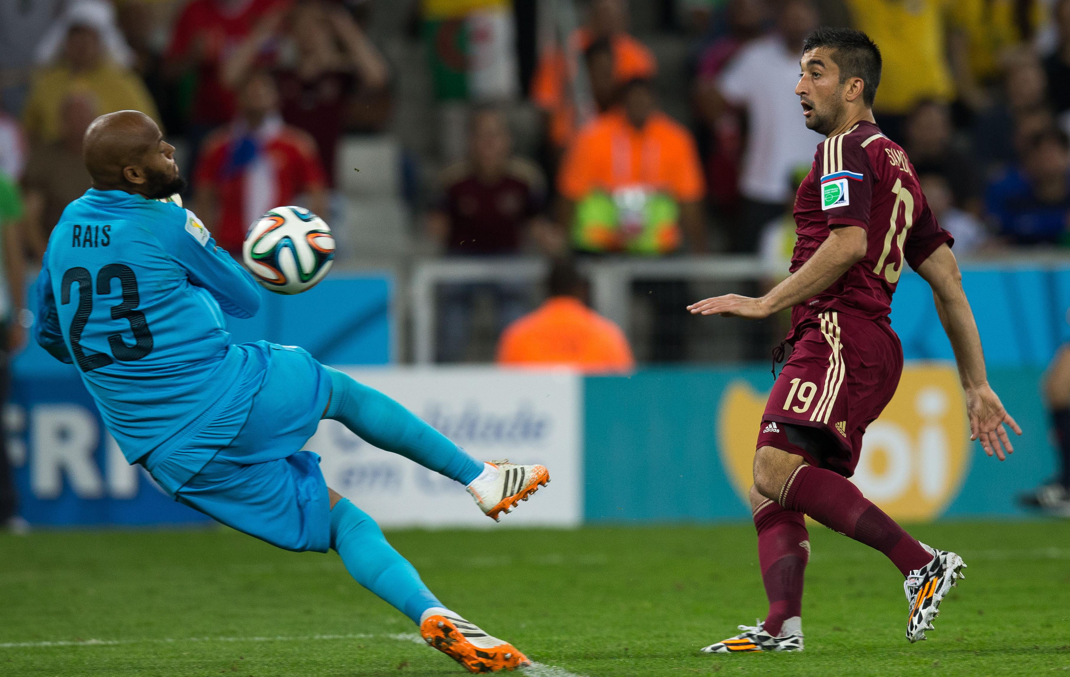 M bolhi le mur de l alg rie 2014 br sil coupe du monde football - Algerie disqualifie coupe du monde ...