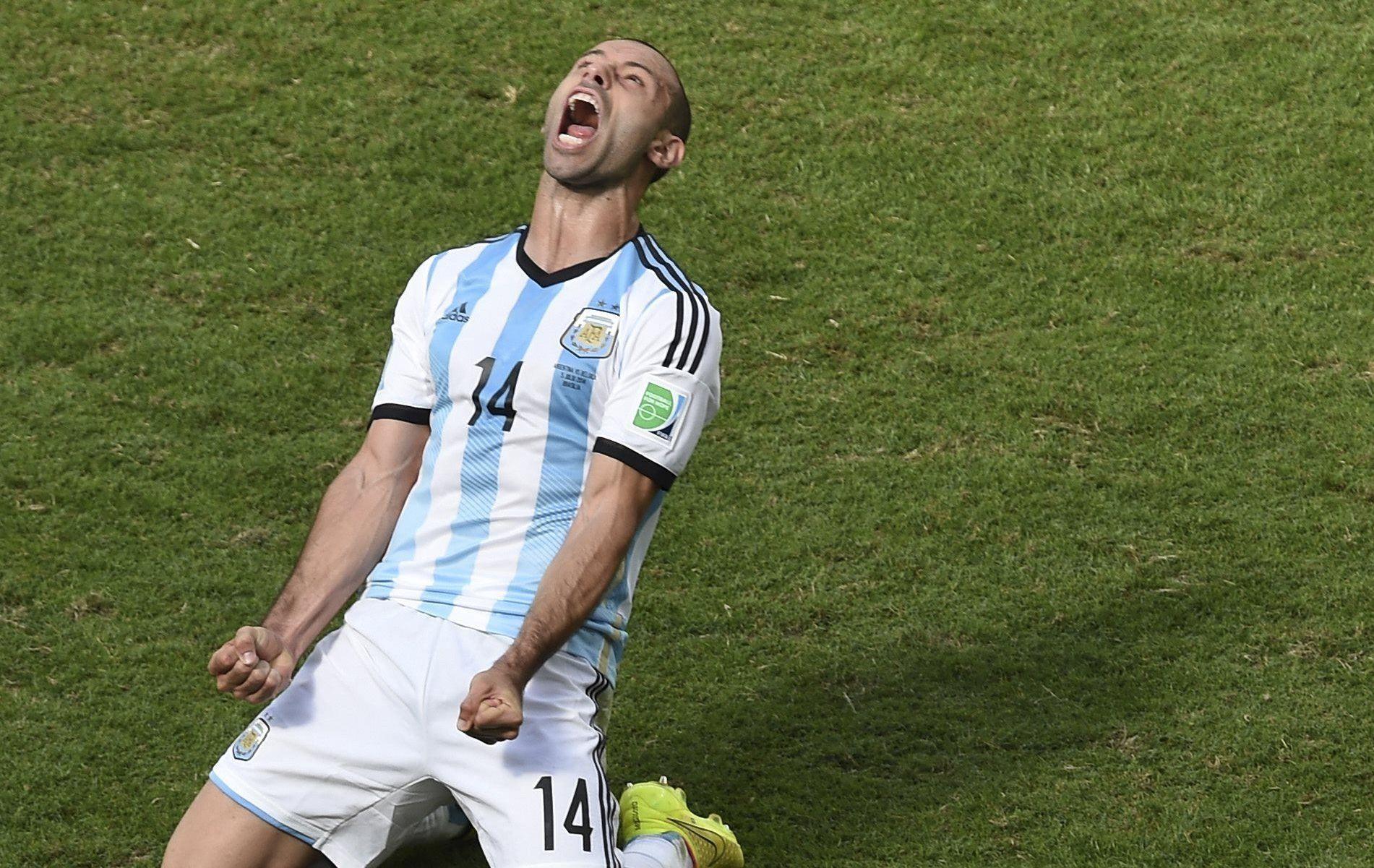 Mascherano le capitaine de l ombre 2014 br sil coupe du monde football - Jeux de football coupe du monde 2014 ...