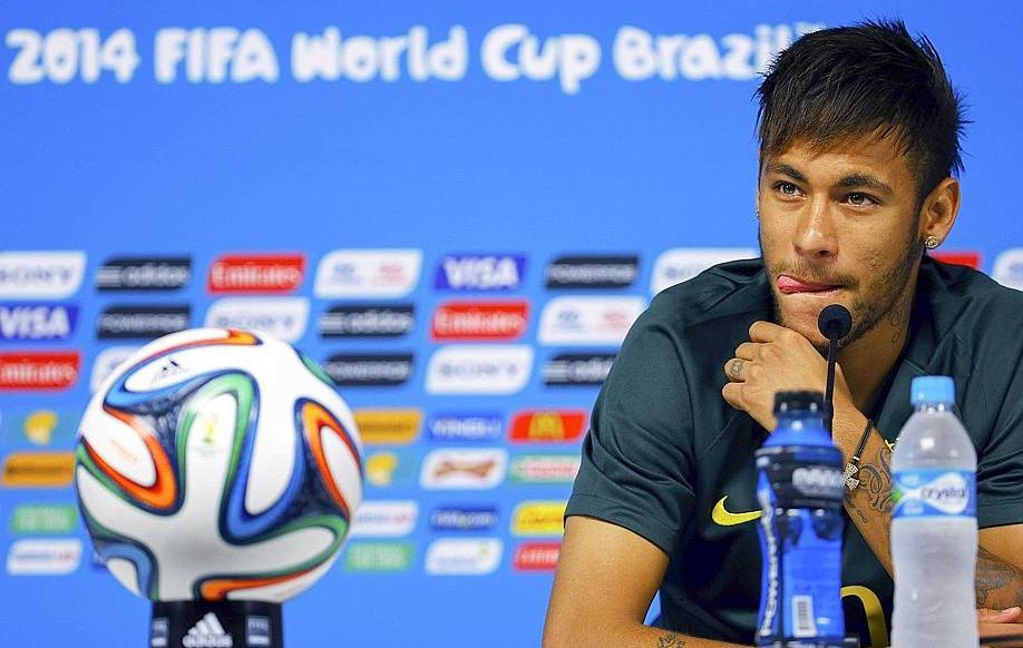Neymar aura t il les paules assez larges 2014 br sil coupe du monde football - Jeux de football coupe du monde 2014 ...