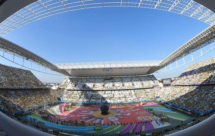 Revivez la c r monie d 39 ouverture de la coupe du monde 2014 br sil coupe du monde football - Theatre de la coupe d or ...