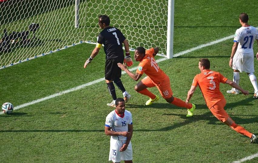 Sans faute pour les pays bas 2014 br sil coupe du monde football - Jeux de football coupe du monde 2014 ...