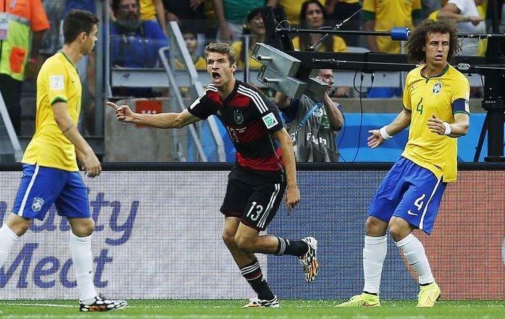 Thomas m ller la banalit du but 2014 br sil coupe du monde football - Jeux de football coupe du monde 2014 ...