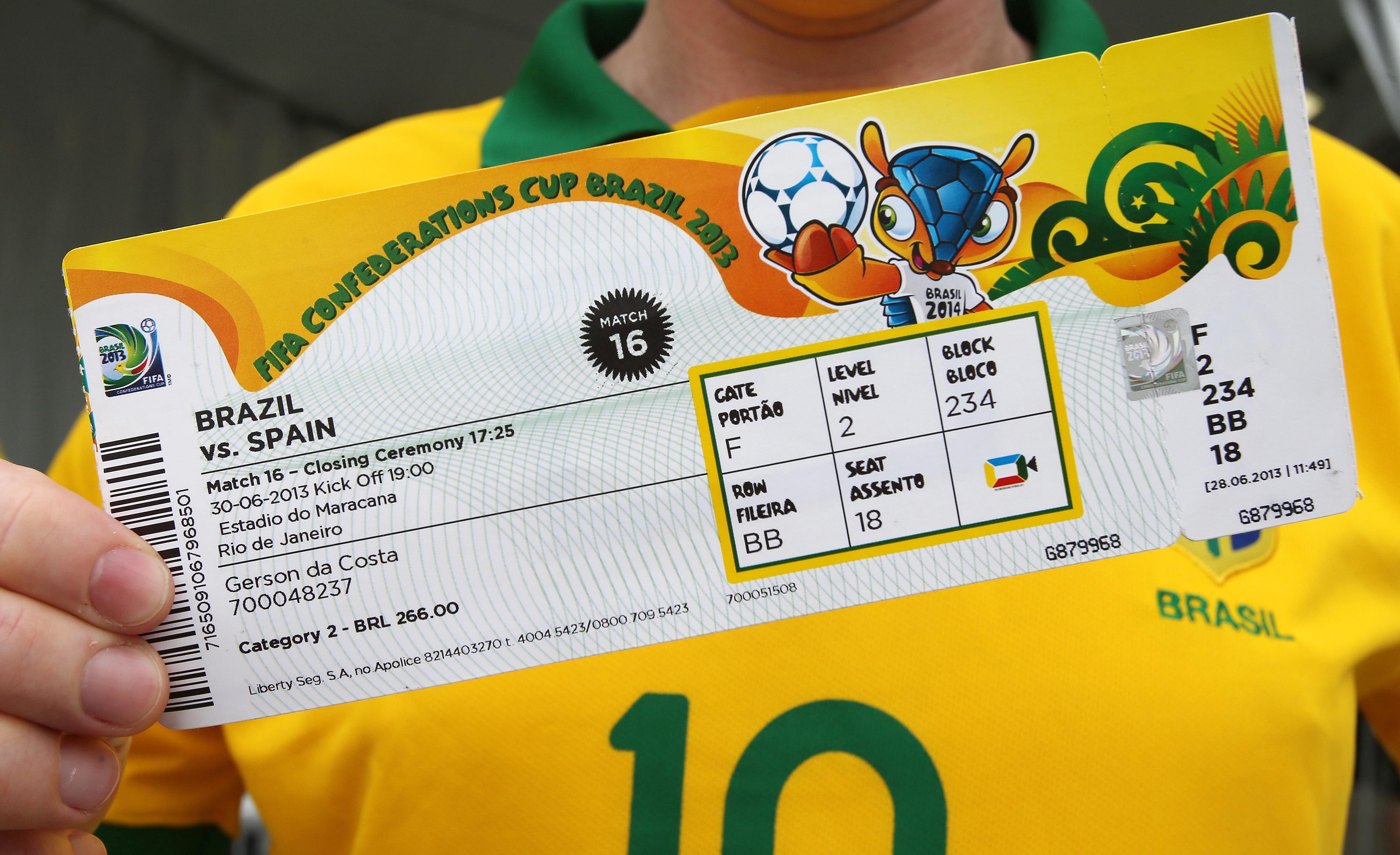 Trafic de billets un membre de la fifa impliqu 2014 - Billet coupe du monde 2015 ...