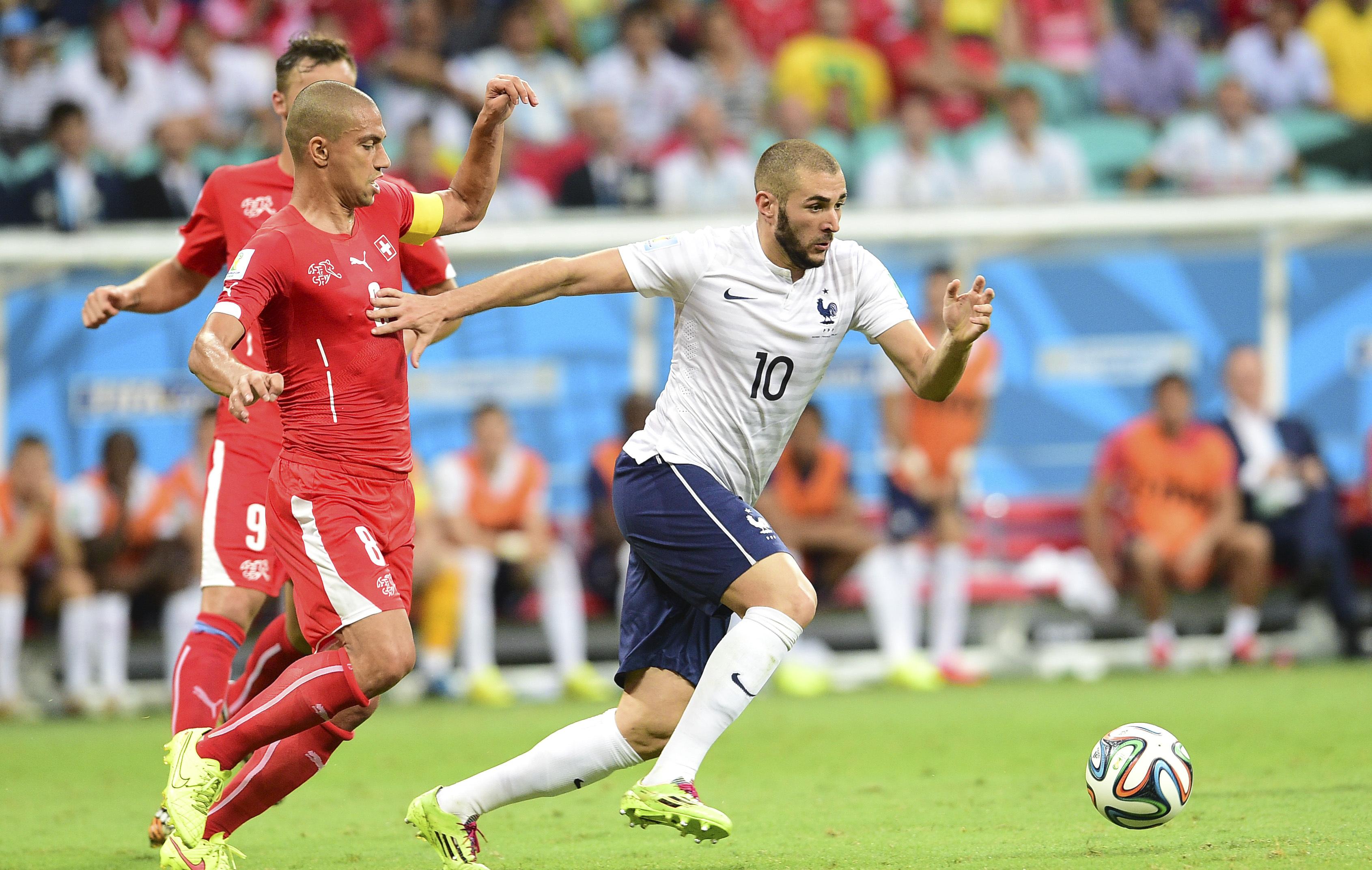 Benzema on peut faire quelque chose dans ce mondial equipe de france 2014 br sil coupe - Jeux de football coupe du monde 2014 ...