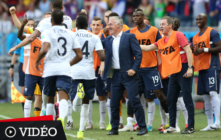Deschamps r ussit tout ce qu 39 il tente equipe de france - Toute les coupe du monde de football ...