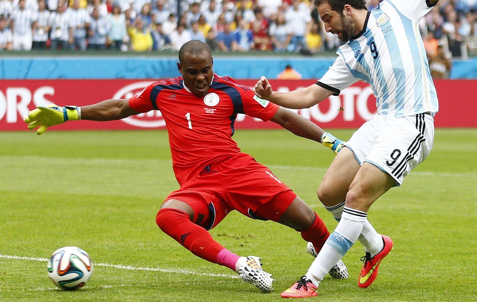 Enyeama inspire la crainte equipe de france 2014 br sil coupe du monde football - Jeux de football coupe du monde 2014 ...
