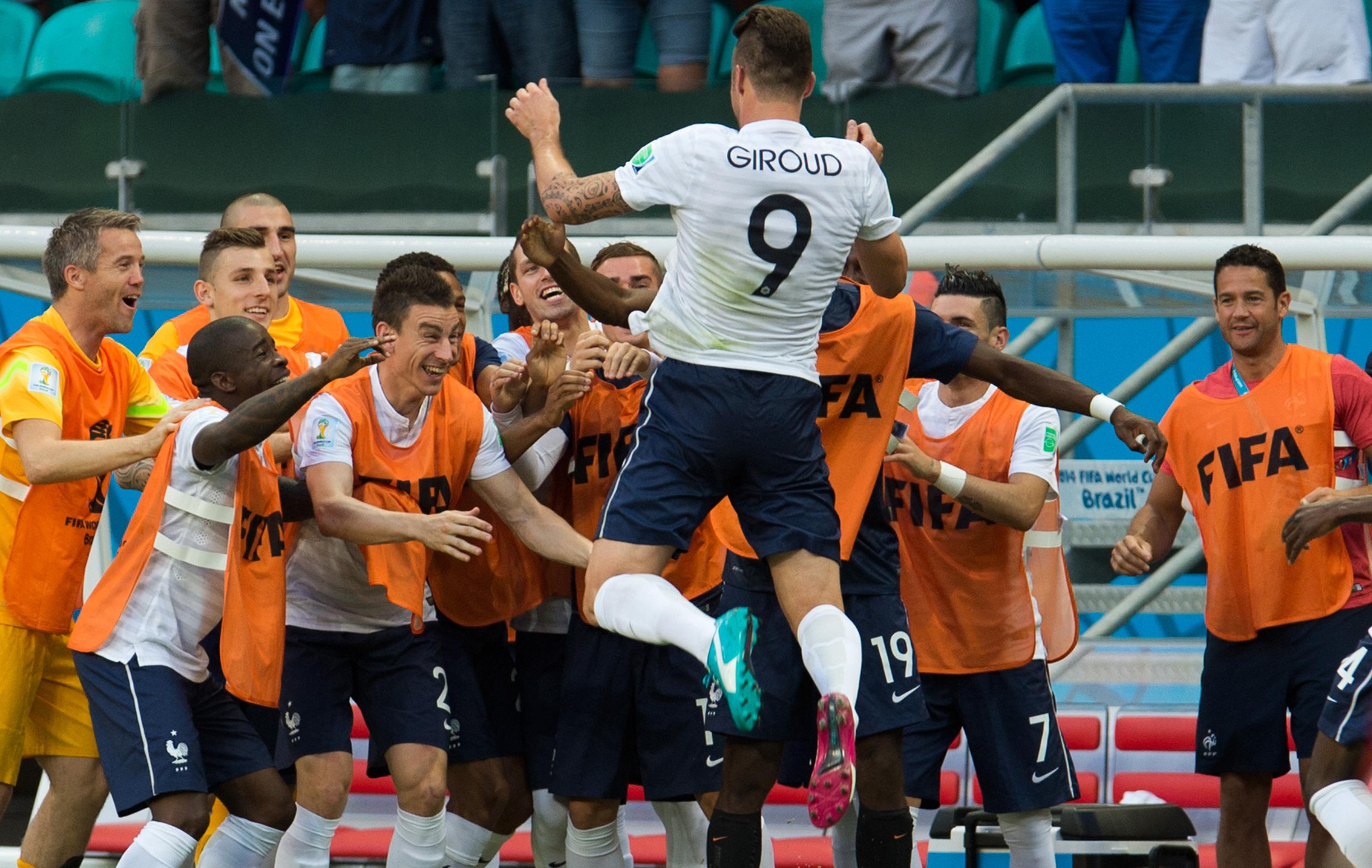 La france retrouve le gotha mondial equipe de france 2014 br sil coupe du monde football - Classement equipe de france coupe du monde 2014 ...