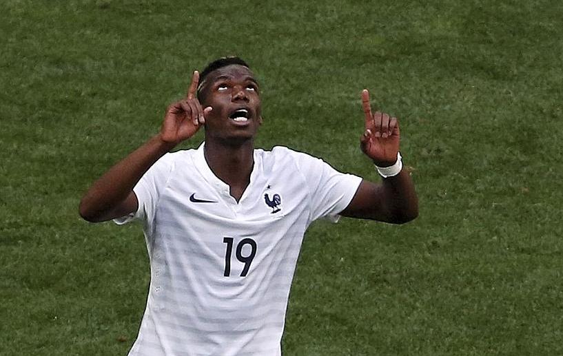 Pogba le but r dempteur equipe de france 2014 br sil coupe du monde football - Jeux de football coupe du monde 2014 ...