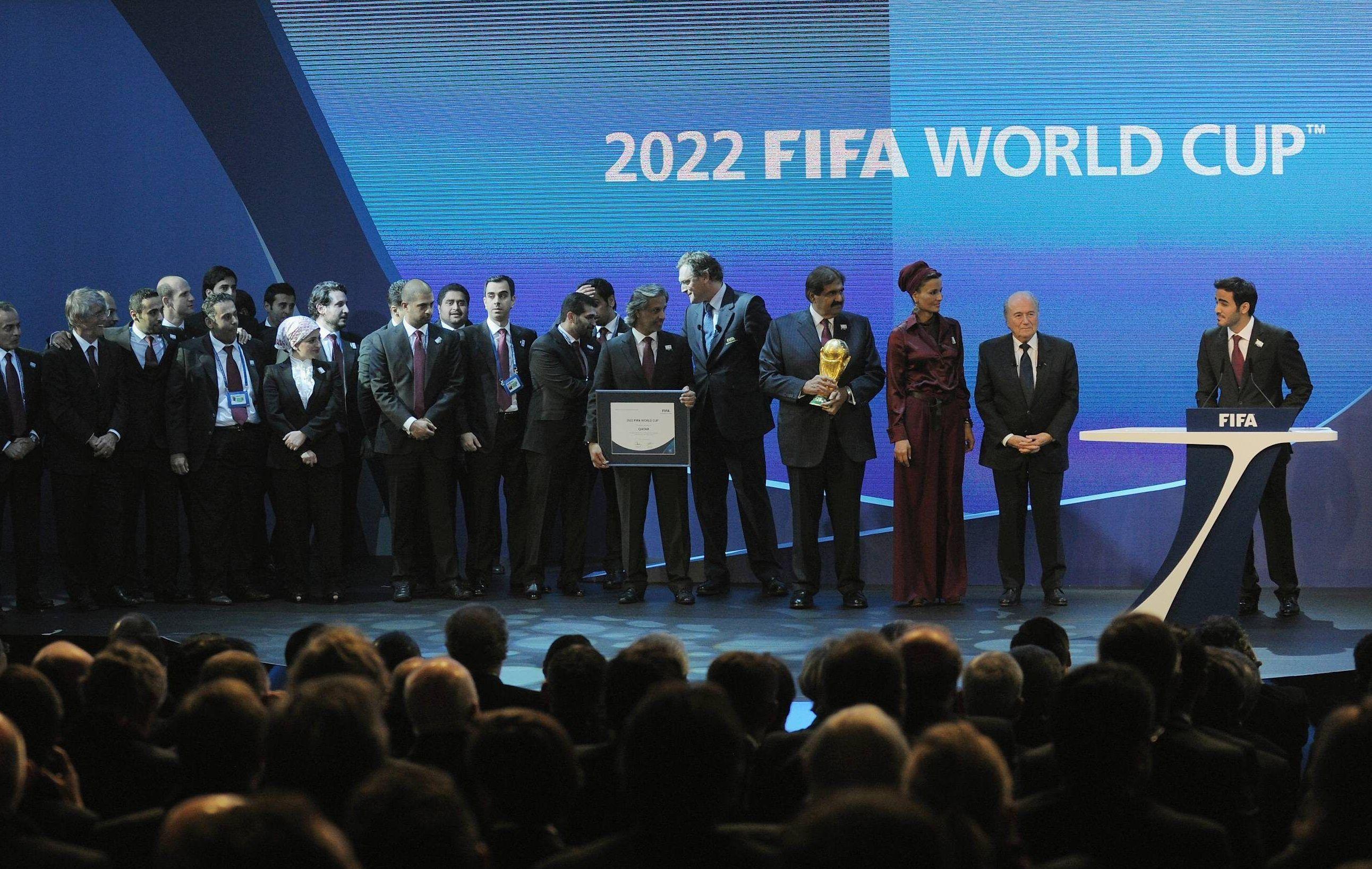 Corruption des preuves contre le qatar coupe du monde football - Qatar football coupe du monde ...