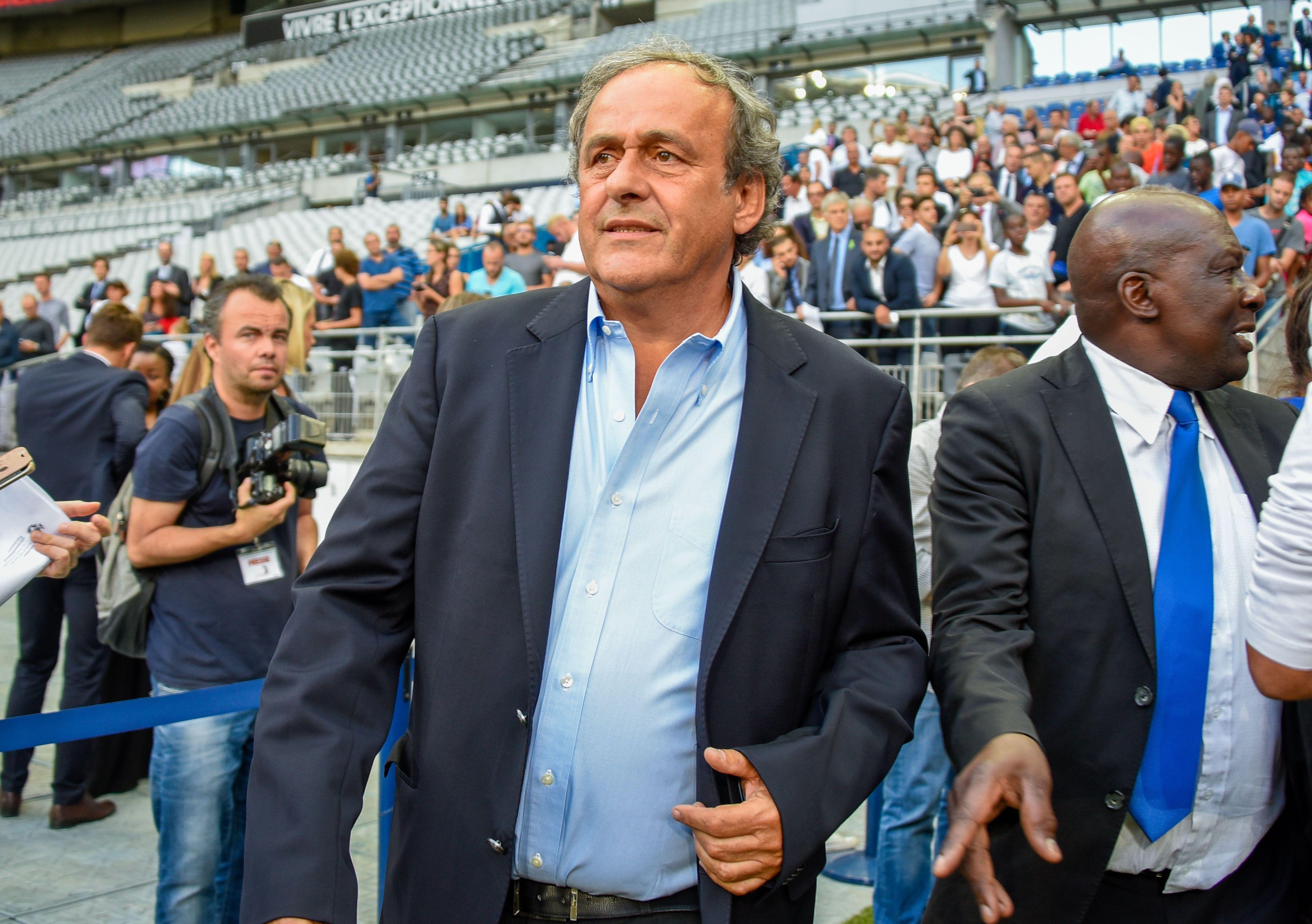 Football - Coupe du monde - Attribution du Mondial 2022 au Qatar : Platini placé en garde à vue