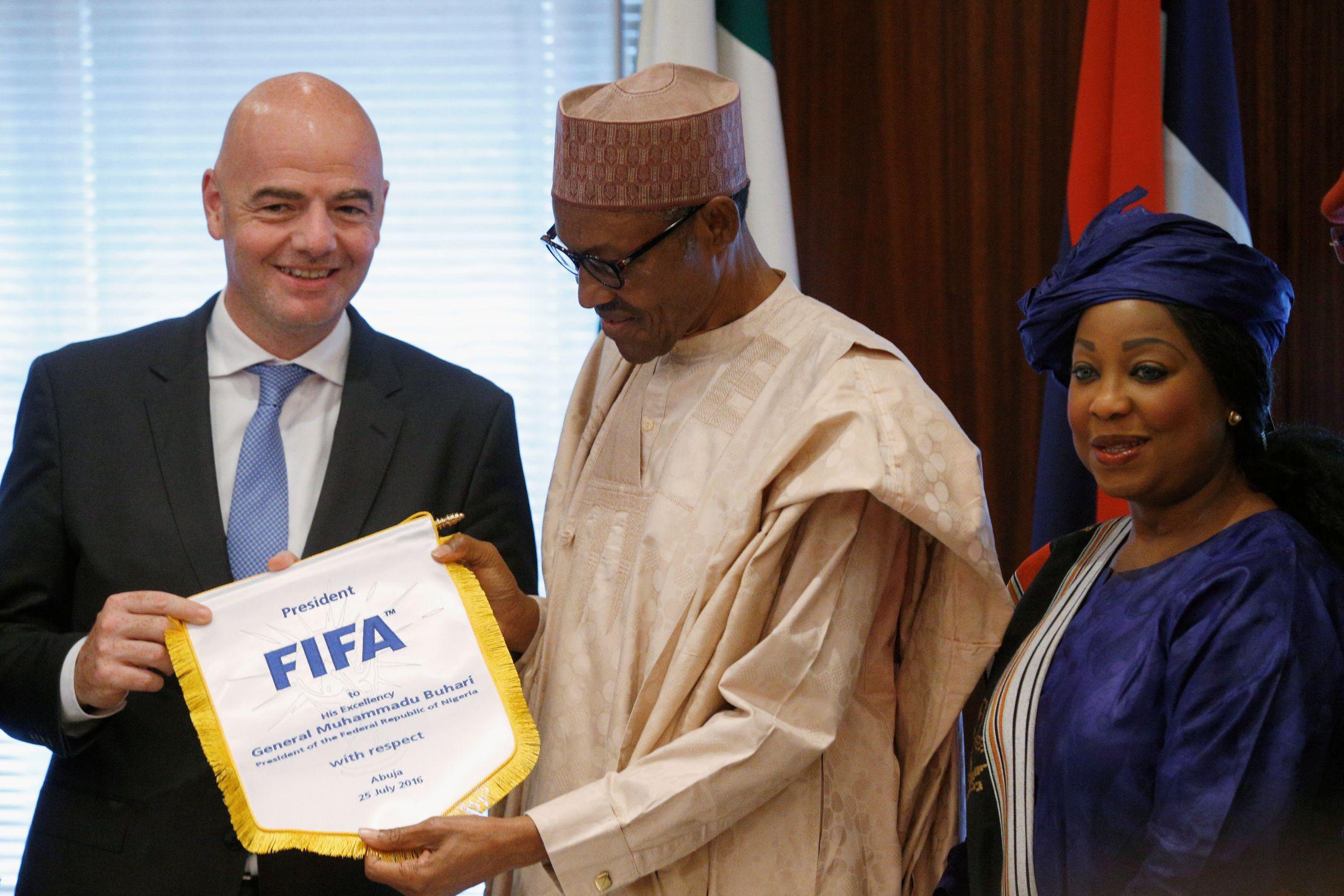 Football - Coupe du monde - Infantino veut une Coupe du monde à 48 pays