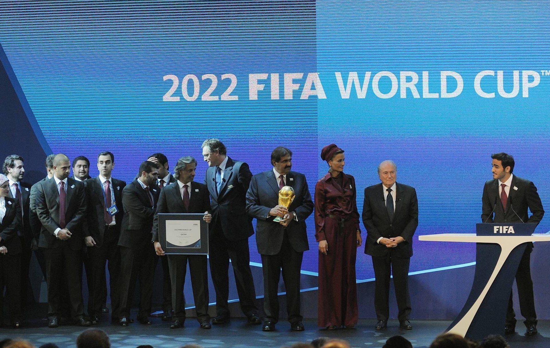 Le qatar embarrasse la fifa coupe du monde football - Qatar football coupe du monde ...