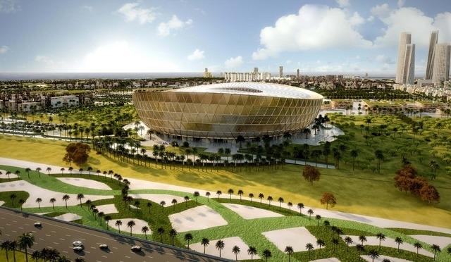 Soucoupe volante places le qatar d voile son - Qatar football coupe du monde ...