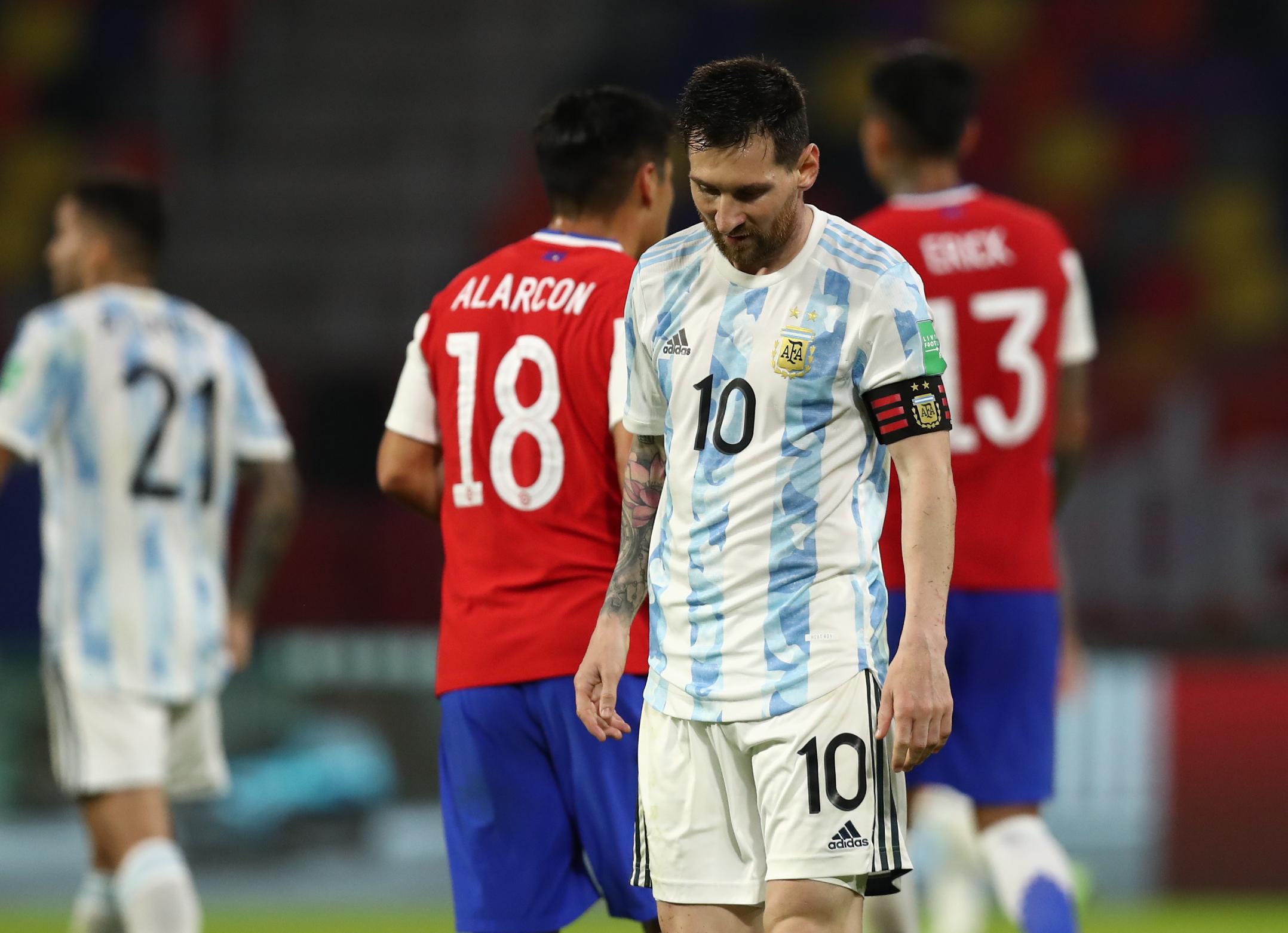 Mondial 2022 : un but et des éclairs de Messi, mais un nul pour l'Argentine - Coupe du monde