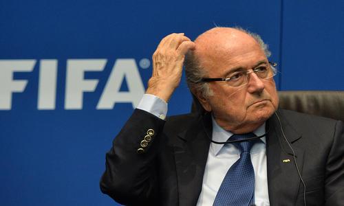 L'erreur du président de la Fifa
