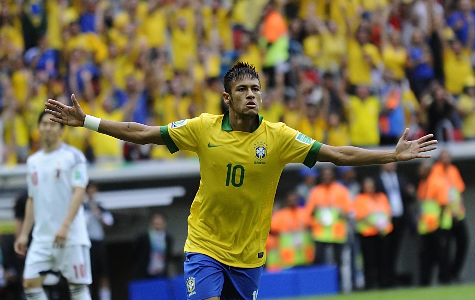 Le br sil compte sur neymar coupe des conf d rations - Coupe du monde foot bresil ...