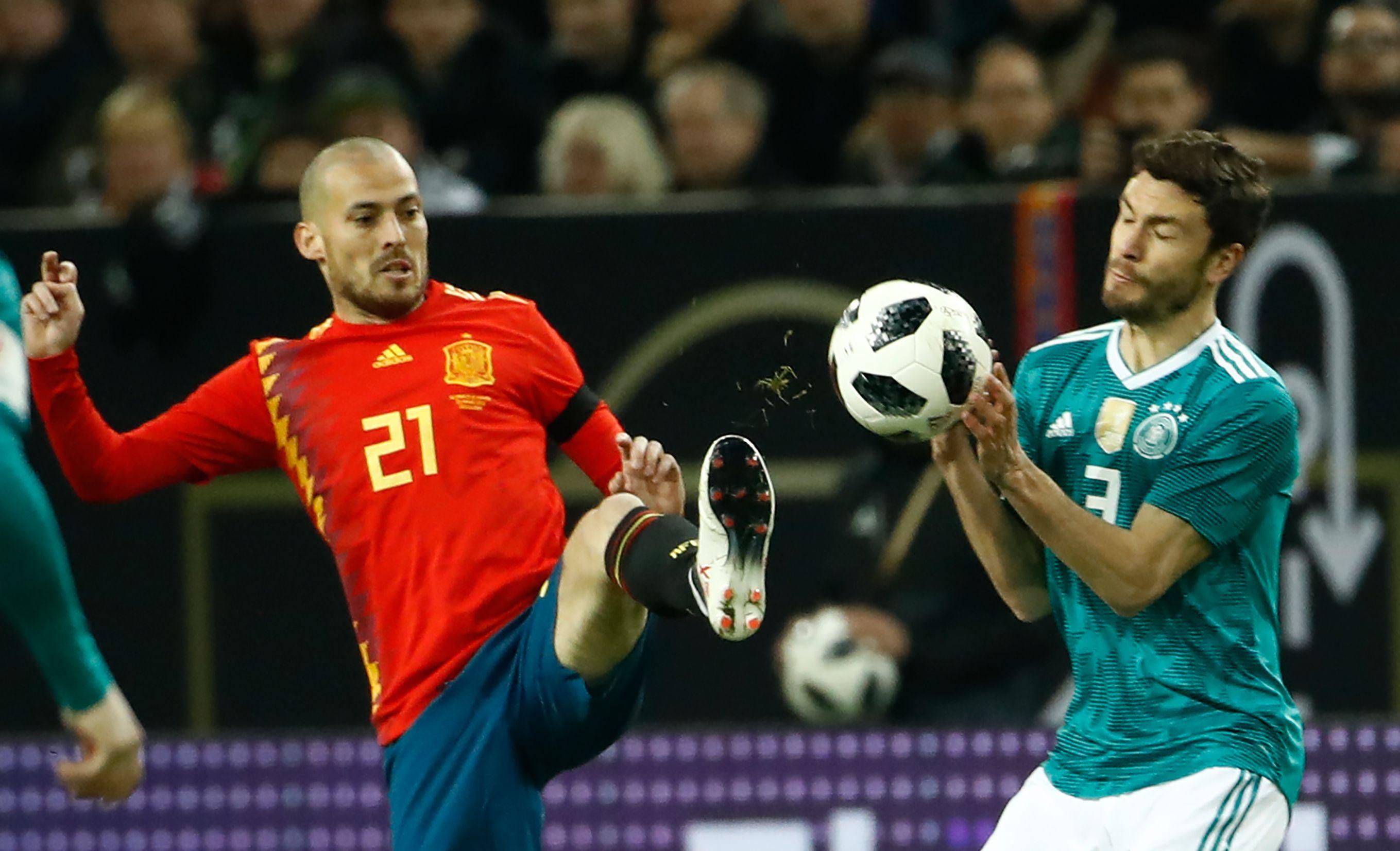 Du beau spectacle mais pas de vainqueur entre l 39 allemagne et l 39 espagne russie 2018 coupe du - Vainqueur des coupe du monde ...